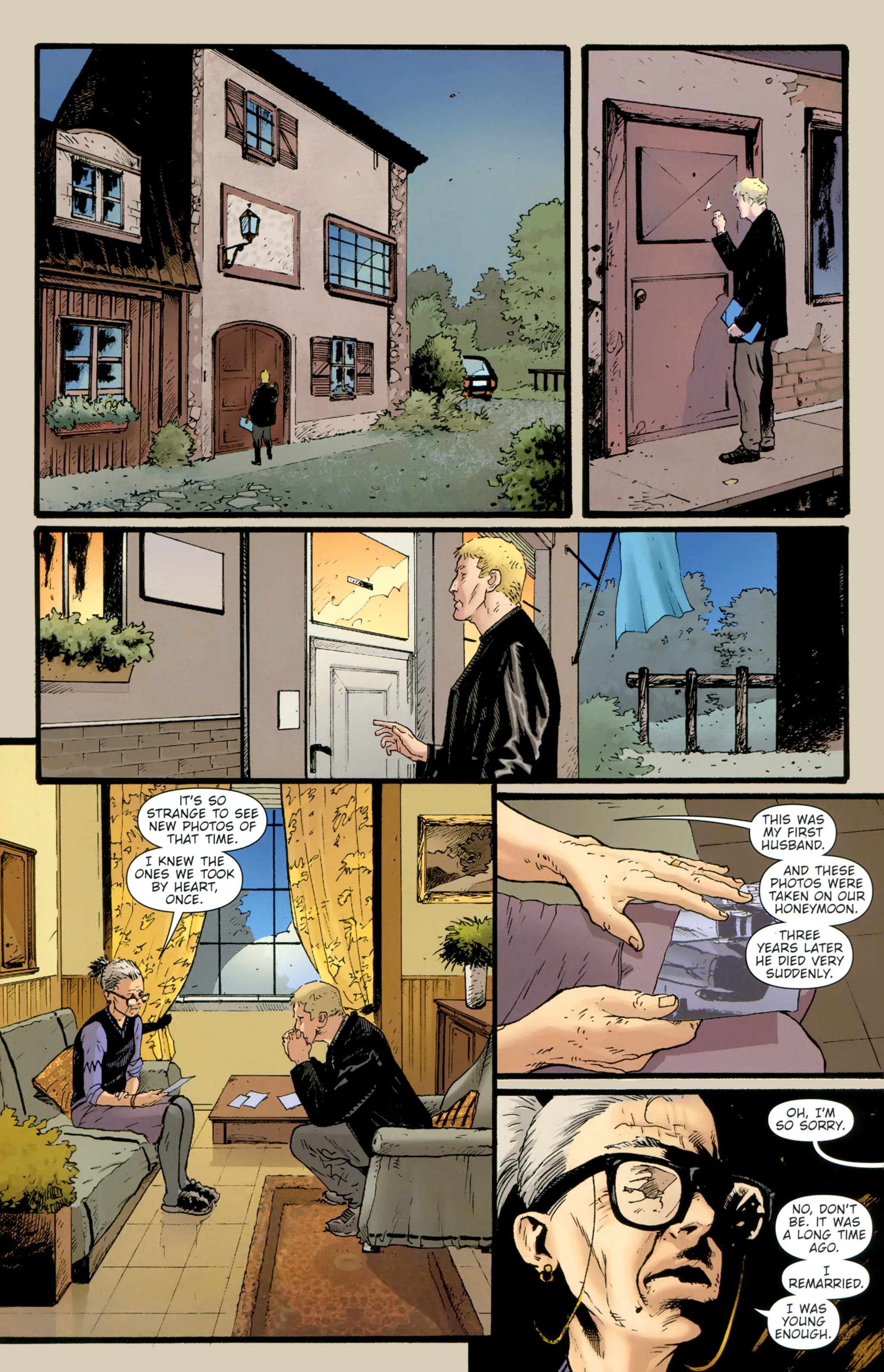 Read online The Girl With the Dragon Tattoo comic -  Issue # TPB 2 - 57