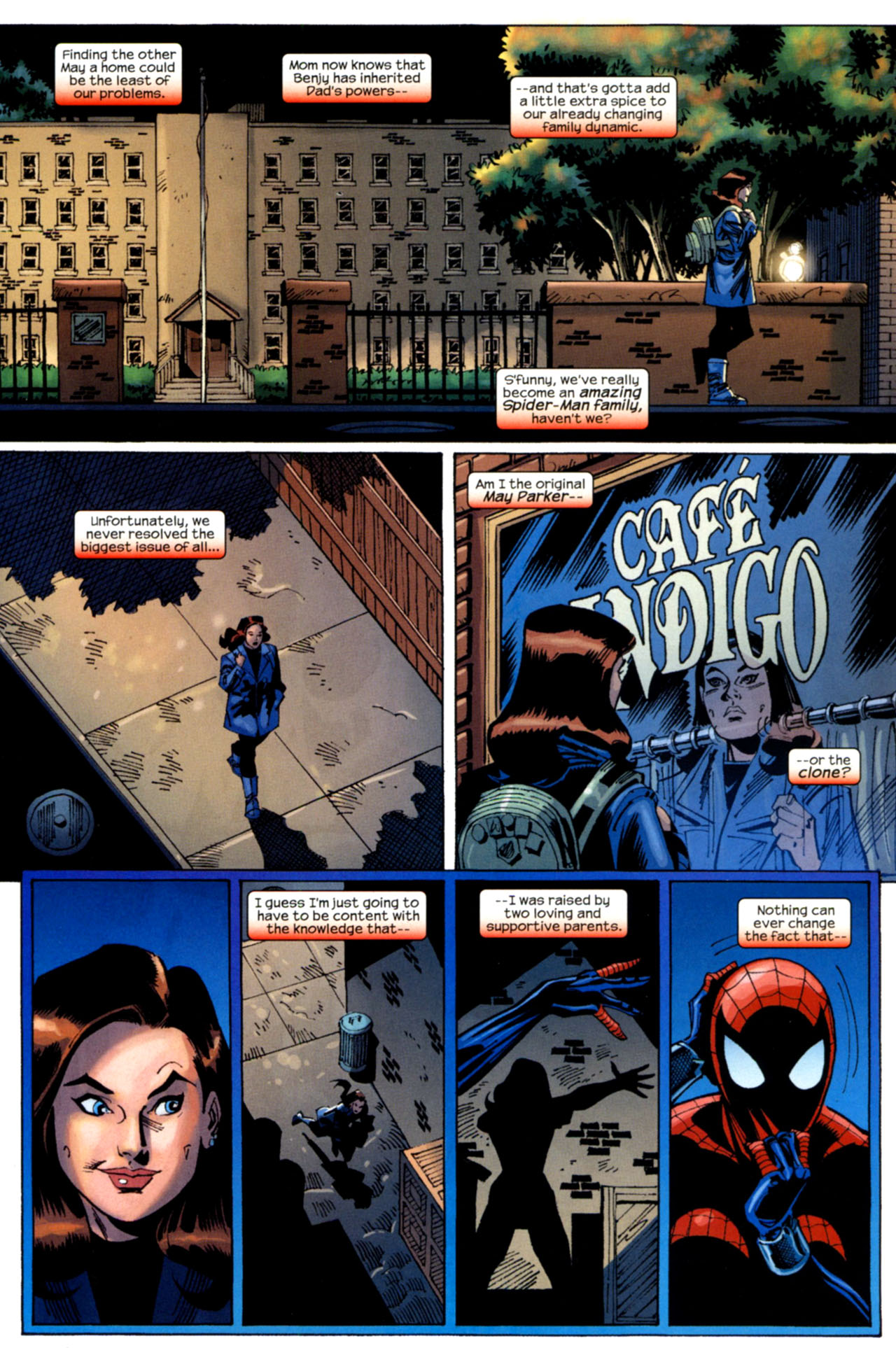 Read online Amazing Spider-Girl comic -  Issue #30 - 31