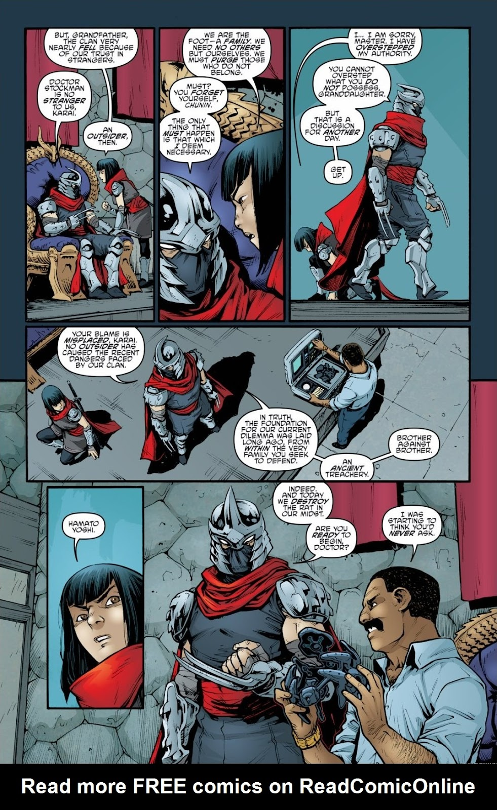 Read online Teenage Mutant Ninja Turtles: The IDW Collection comic -  Issue # TPB 6 (Part 2) - 86