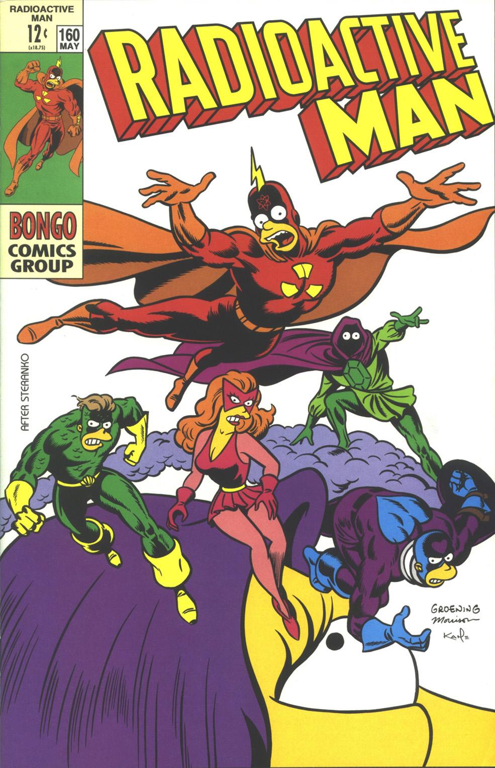 Read online Simpsons Comics comic -  Issue #38 - 34