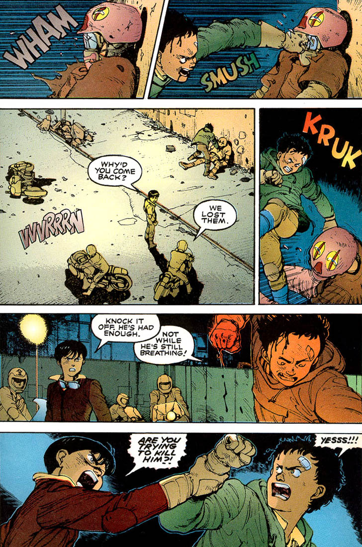 Read online Akira comic -  Issue #3 - 13