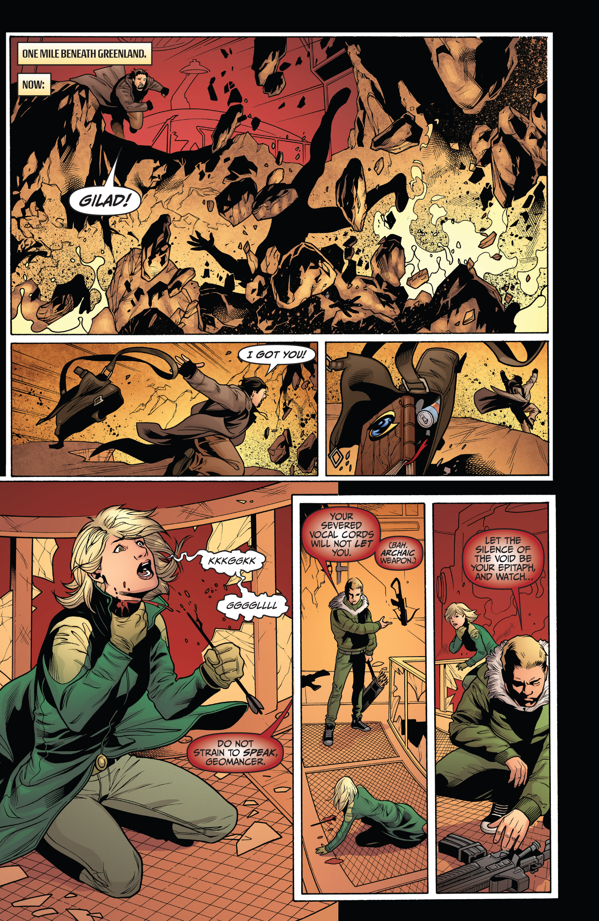Read online Archer and Armstrong comic -  Issue #9 - 7