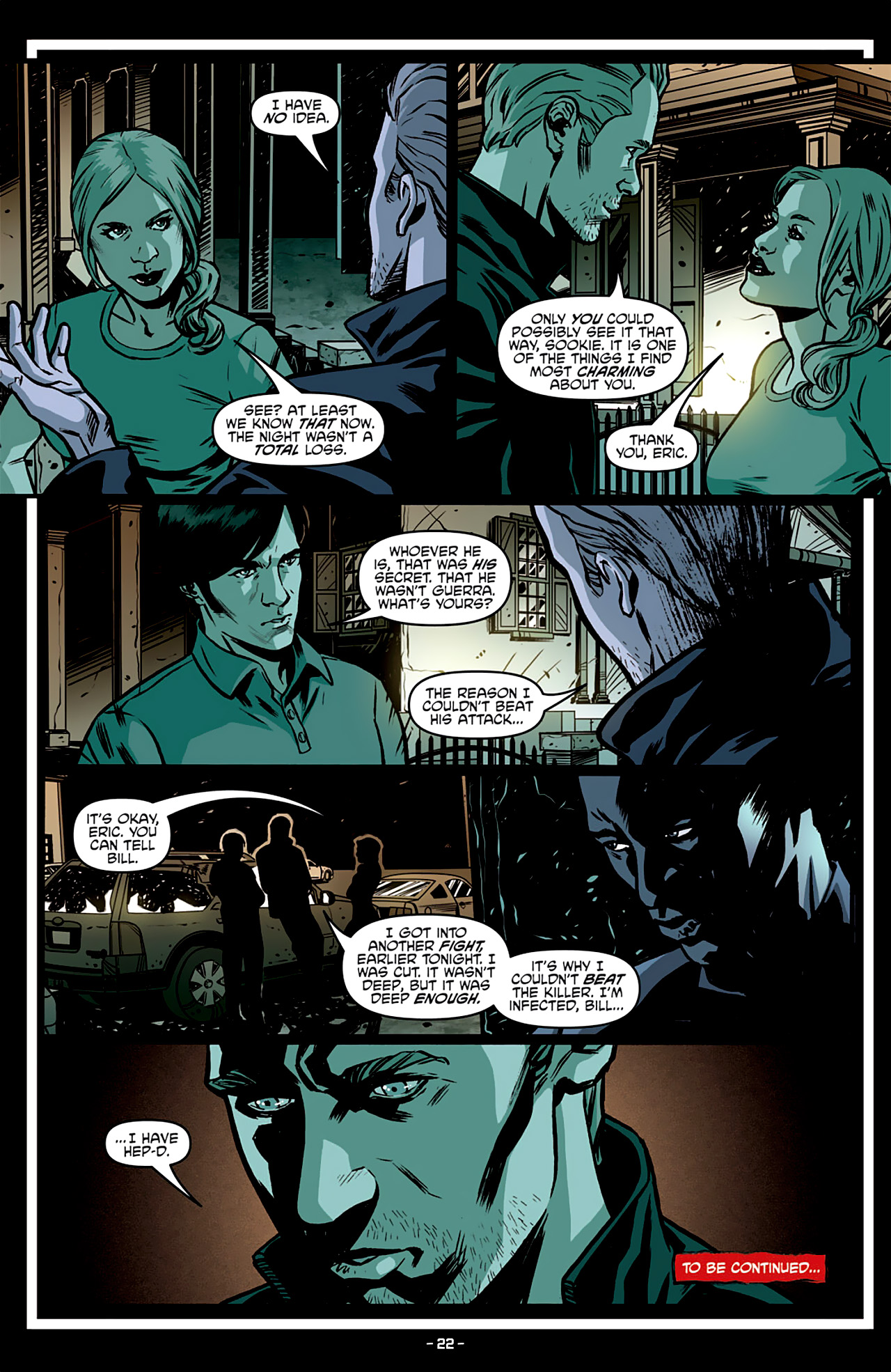 Read online True Blood: French Quarter comic -  Issue #3 - 26