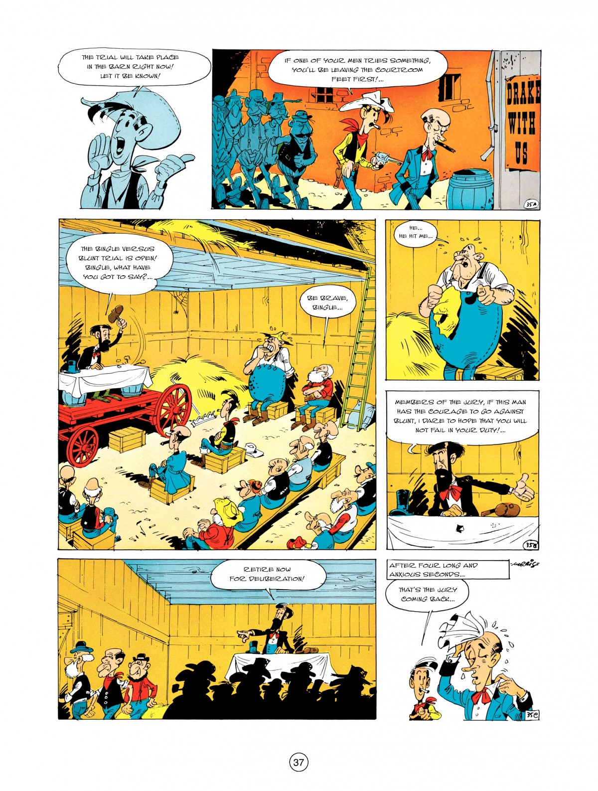 A Lucky Luke Adventure 5 Page 38