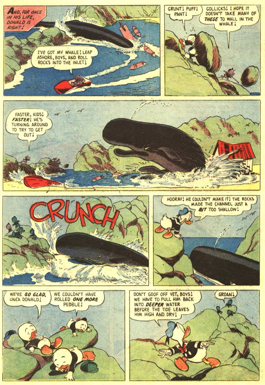 Walt Disney's Comics and Stories issue 193 - Page 8