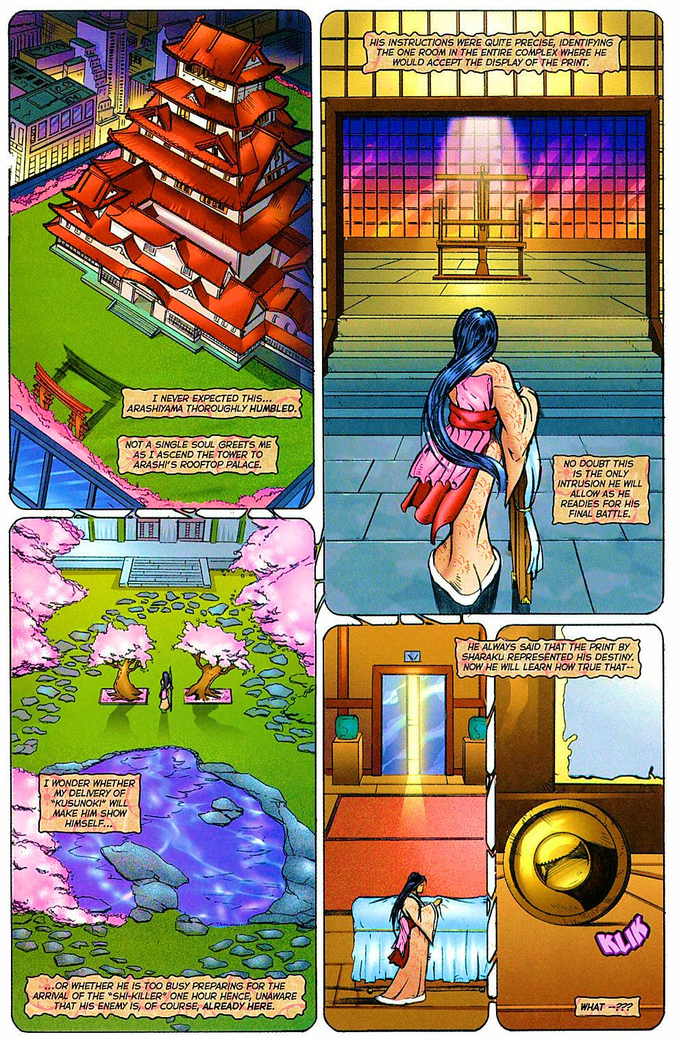 Read online Shi: The Way of the Warrior comic -  Issue #12 - 9