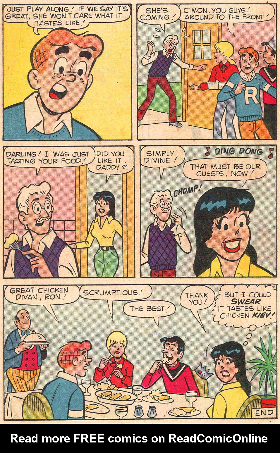 Read online Archie's Girls Betty and Veronica comic -  Issue #301 - 18