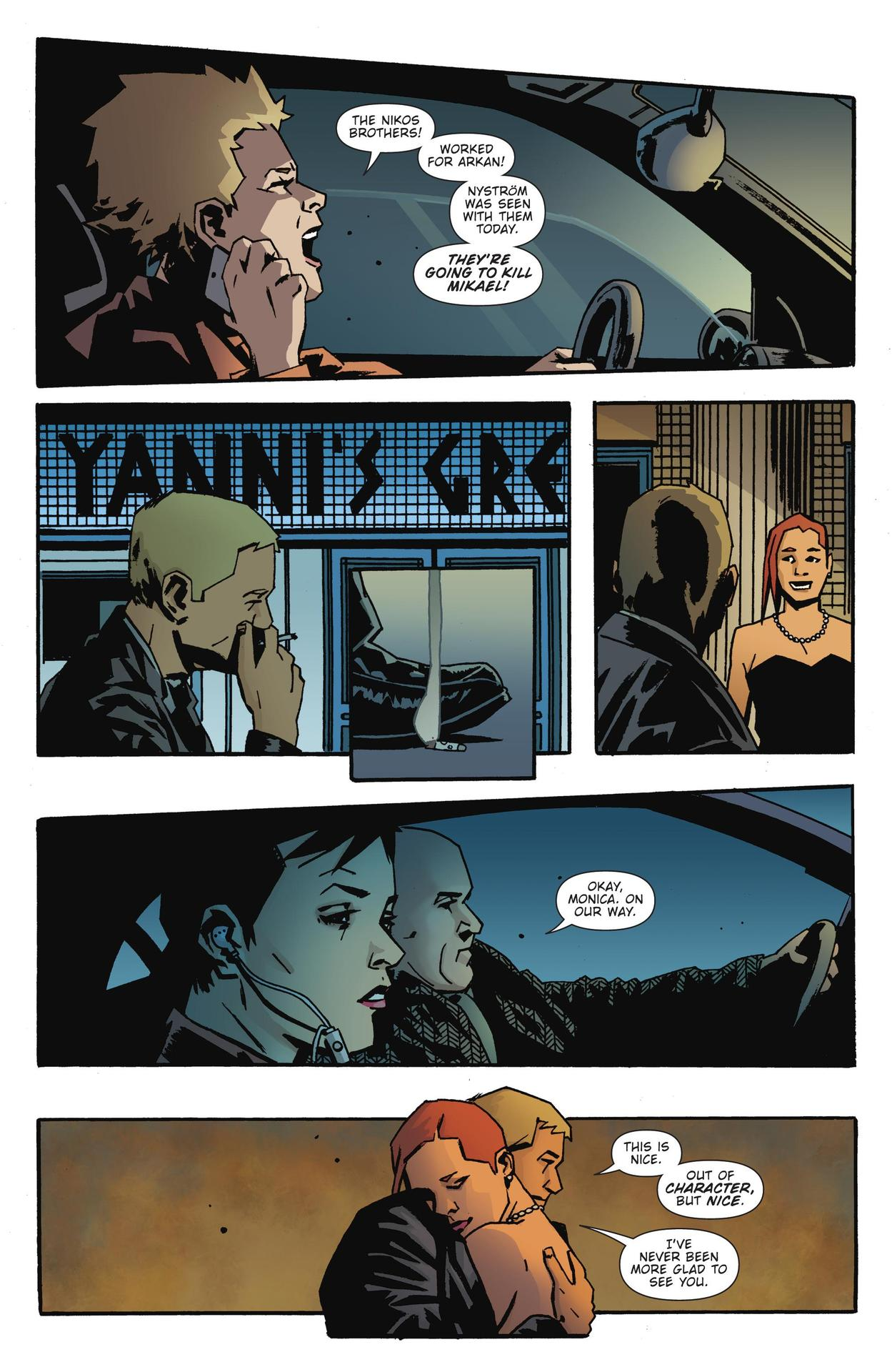 Read online The Girl Who Kicked The Hornet's Nest comic -  Issue # TPB - 205