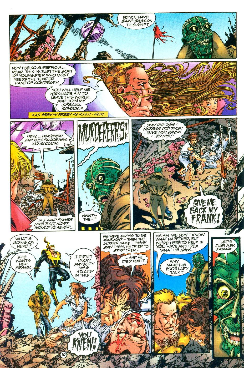 Read online UltraForce (1994) comic -  Issue #0 - 12