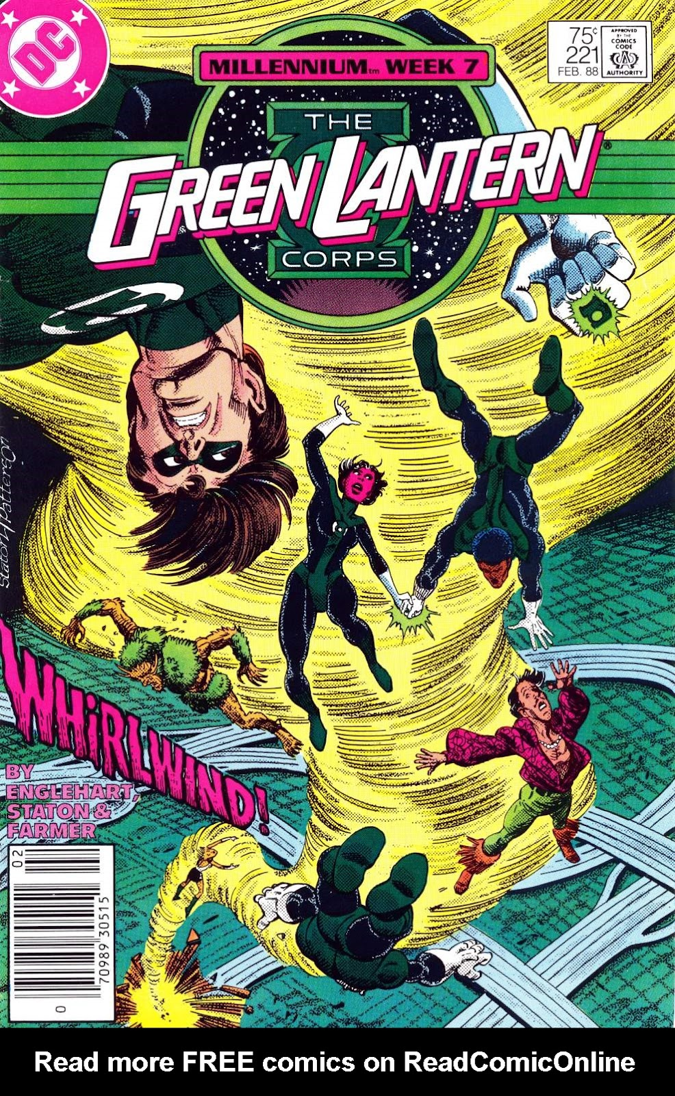 The Green Lantern Corps 221 Page 1