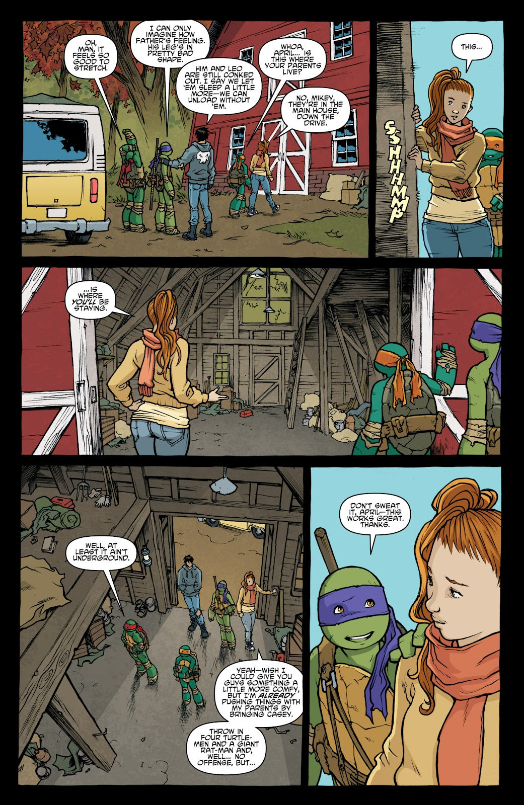Read online Teenage Mutant Ninja Turtles: The IDW Collection comic -  Issue # TPB 4 (Part 1) - 11