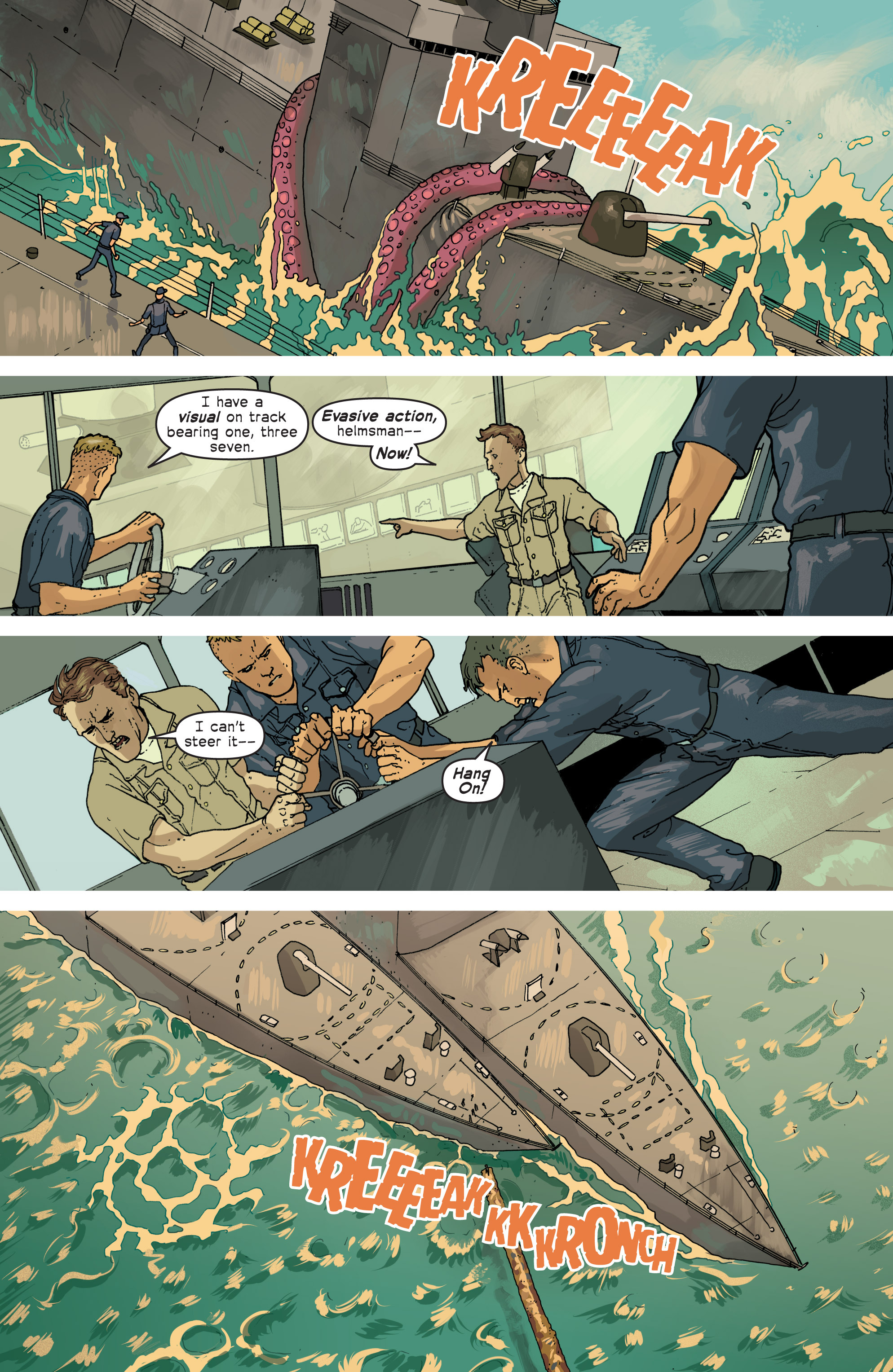 Read online Great Pacific comic -  Issue #6 - 12
