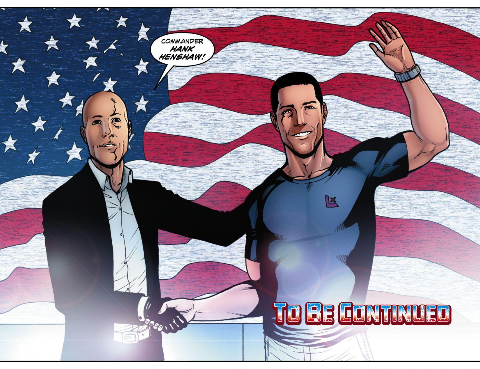 Read online Smallville: Season 11 comic -  Issue #4 - 22