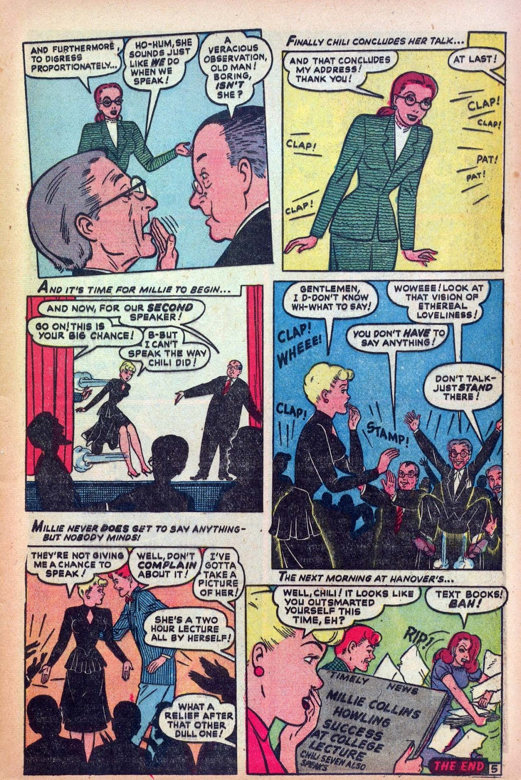 Read online Millie the Model comic -  Issue #13 - 7