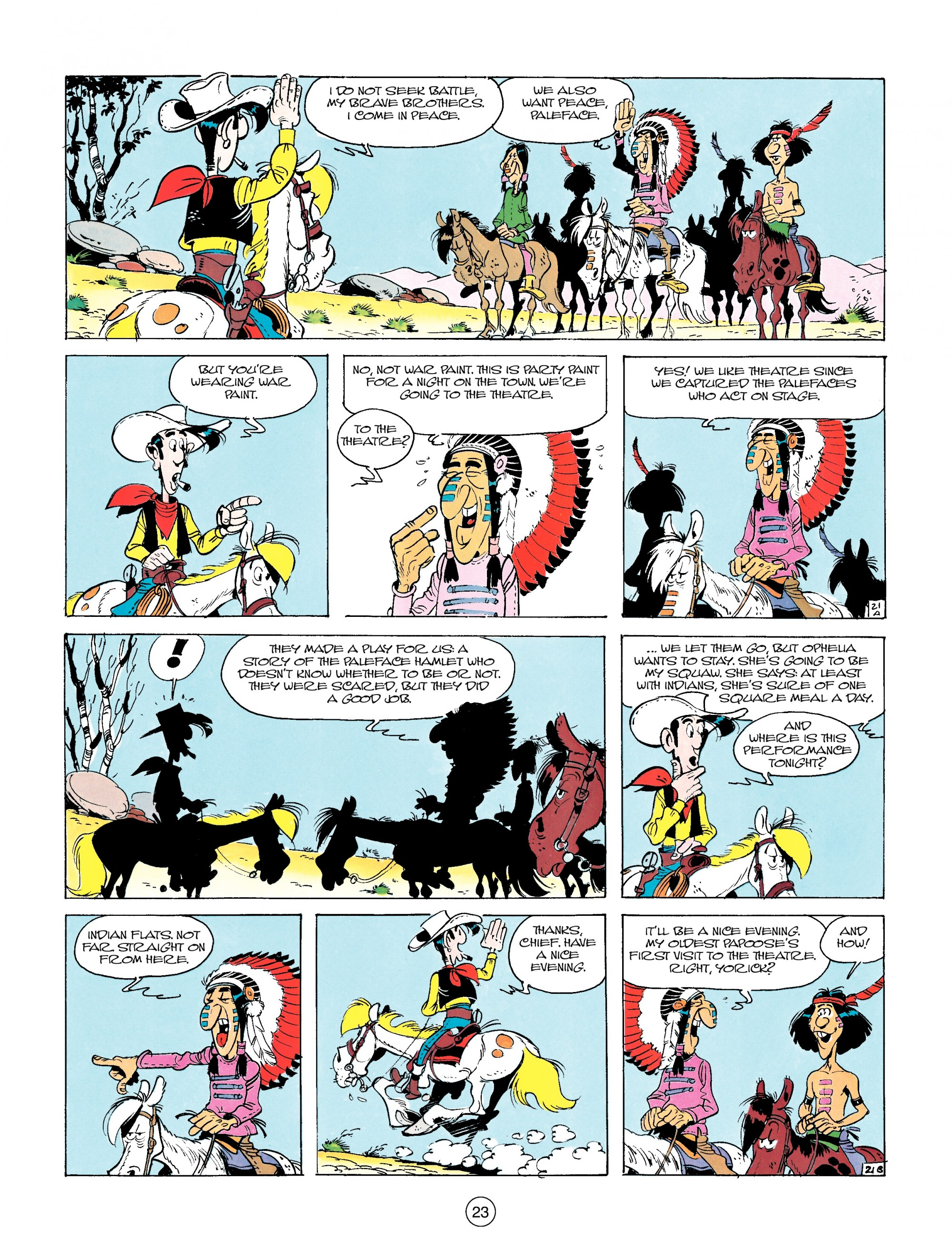 Read online A Lucky Luke Adventure comic -  Issue #14 - 23