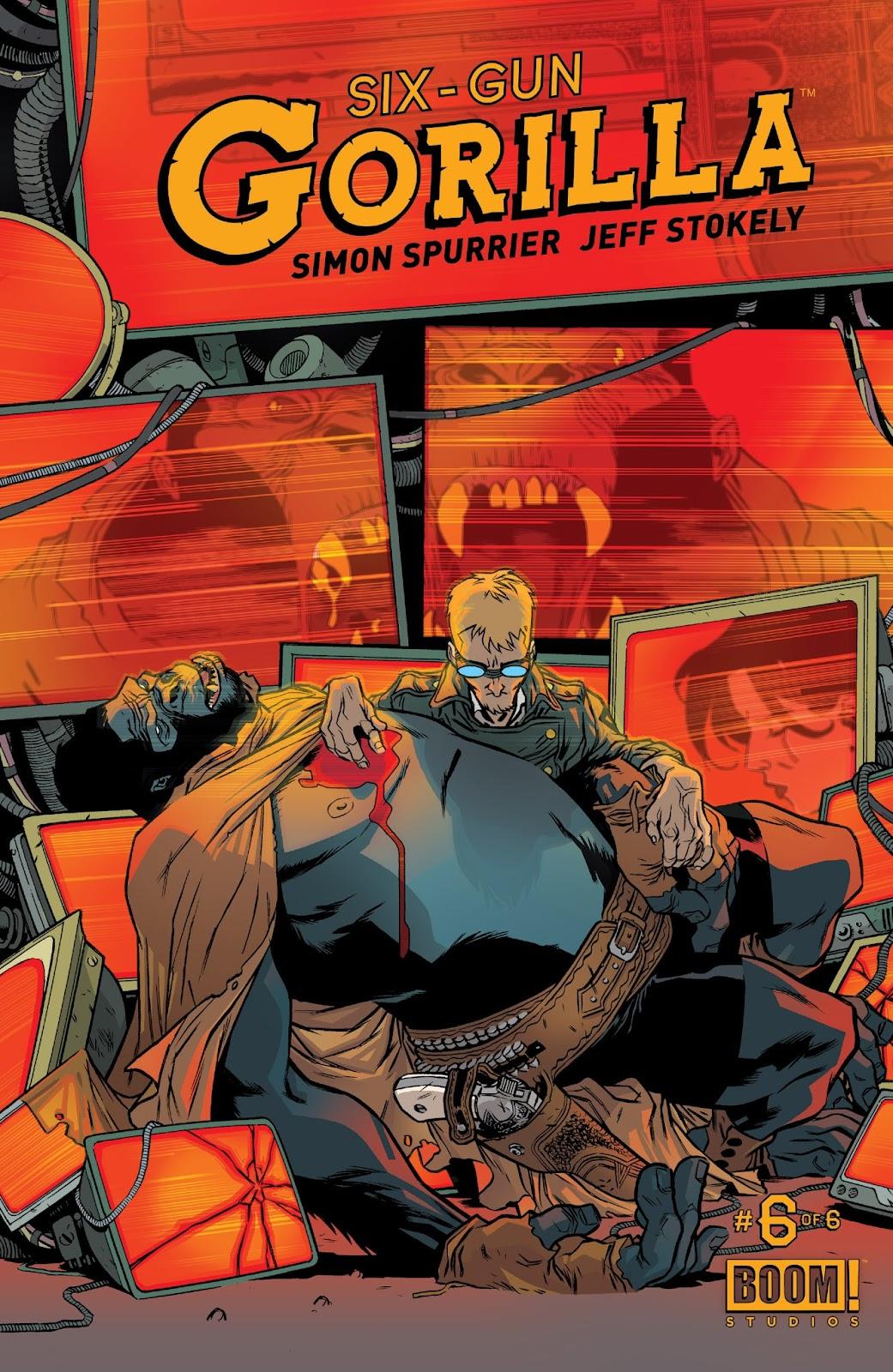 Six-Gun Gorilla issue 6 - Page 1