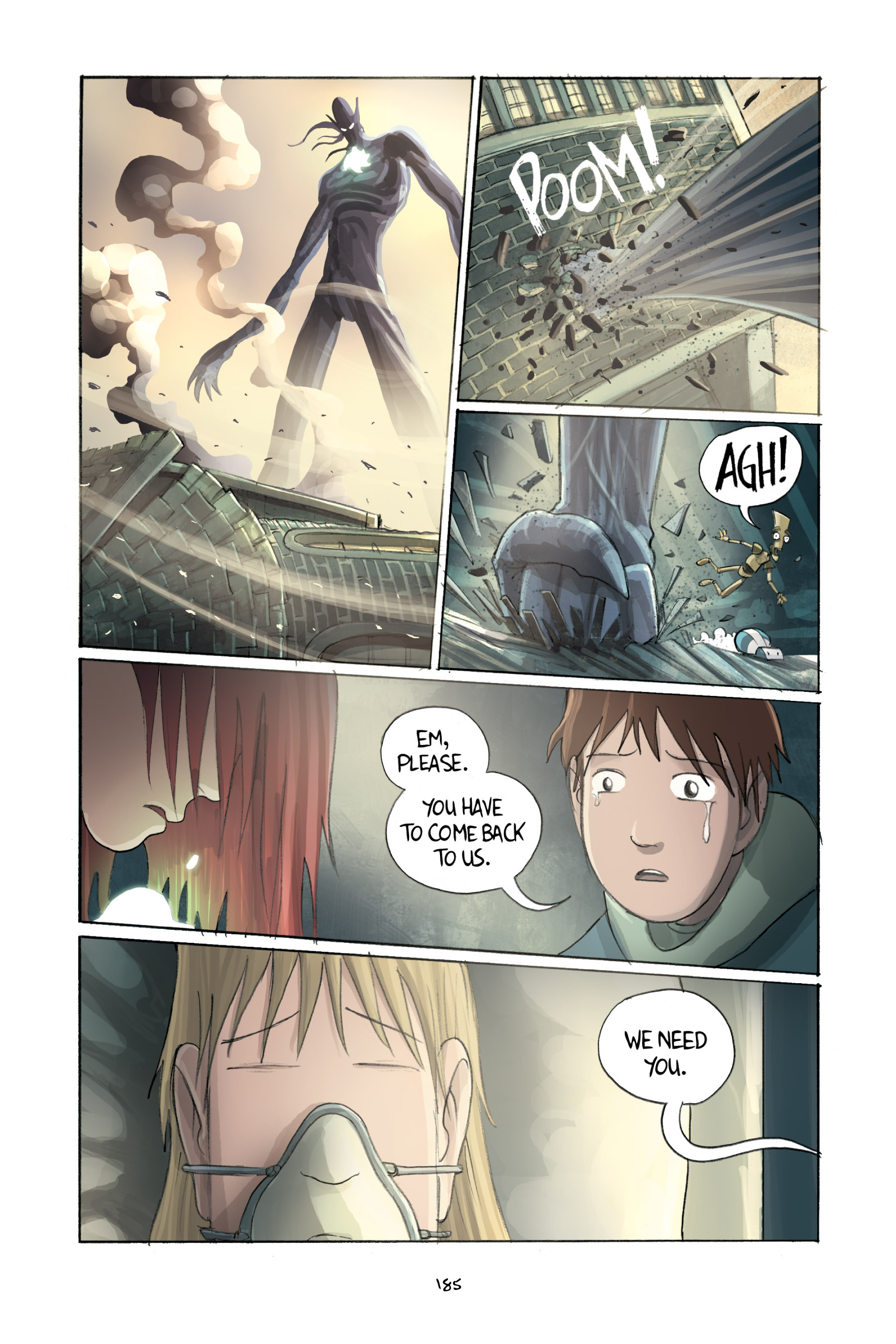 Read online Amulet comic -  Issue #2 - 184
