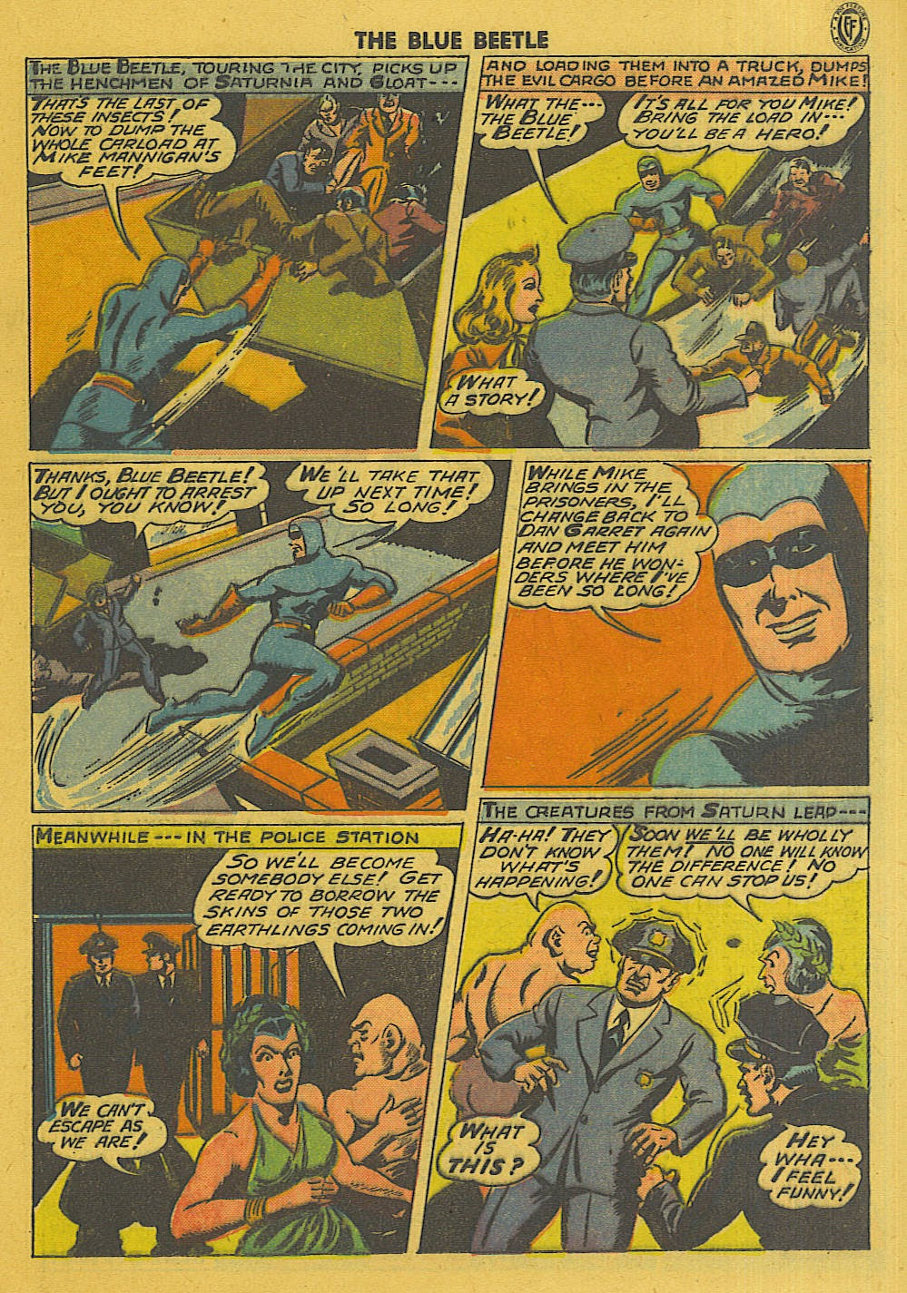 The Blue Beetle issue 35 - Page 20