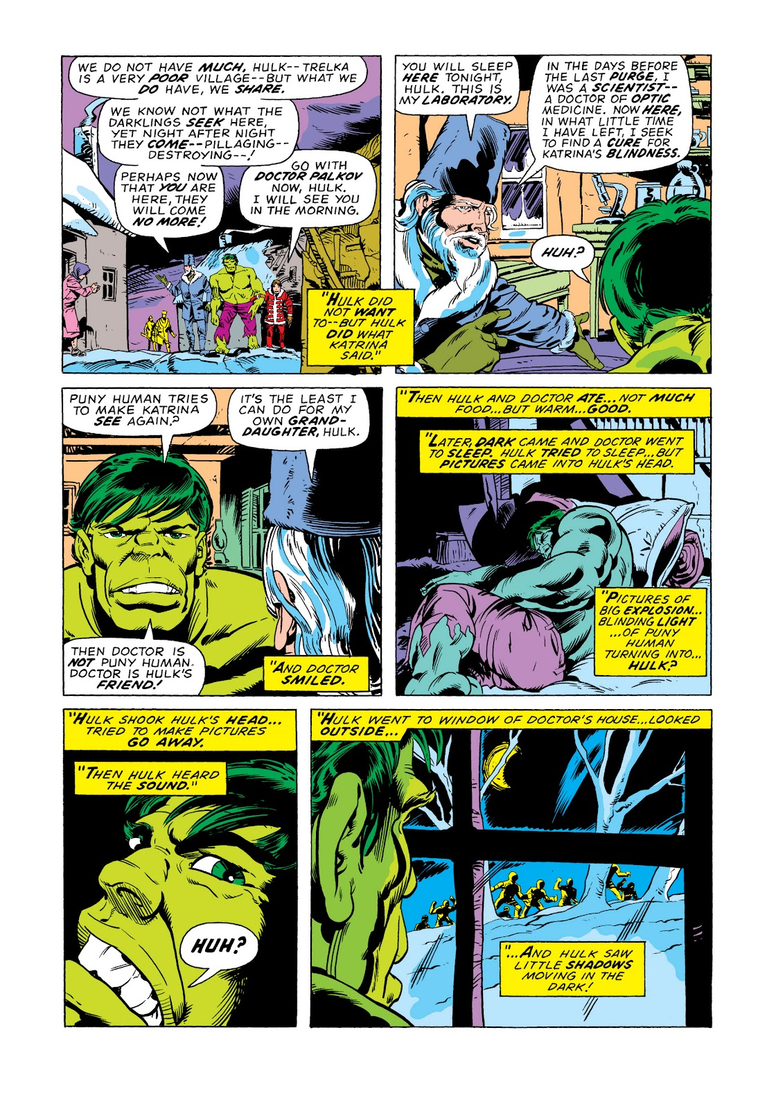 Read online Marvel Masterworks: The Incredible Hulk comic -  Issue # TPB 11 (Part 2) - 7