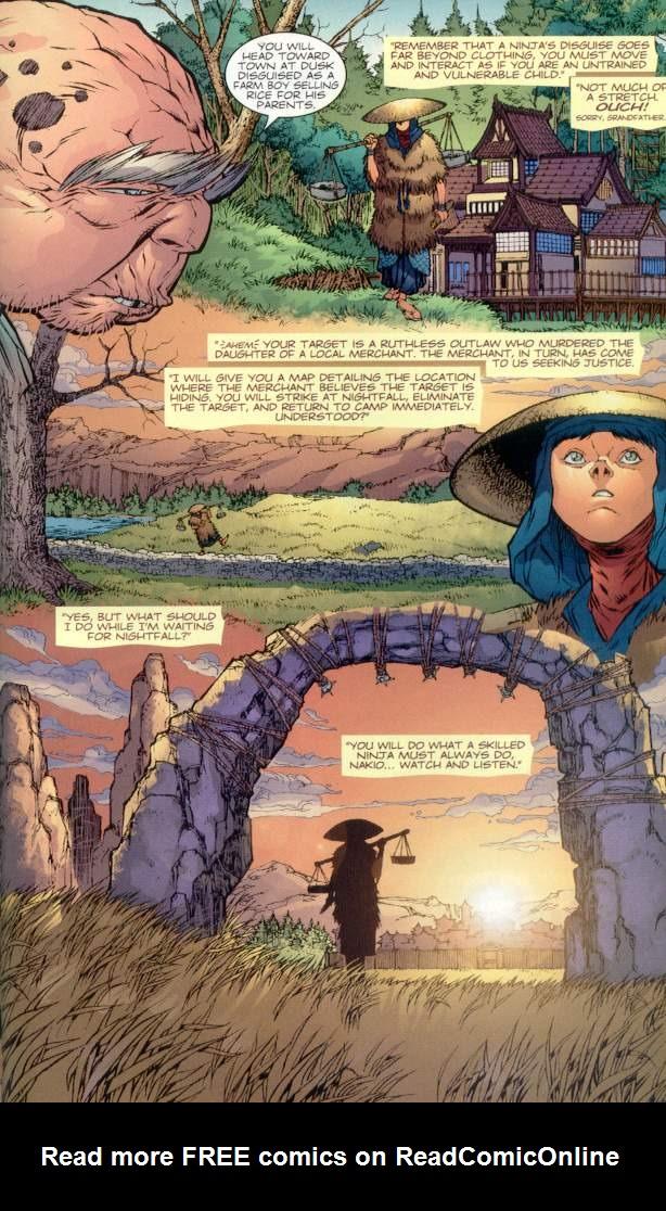 Read online Ninja Boy comic -  Issue #1 - 22