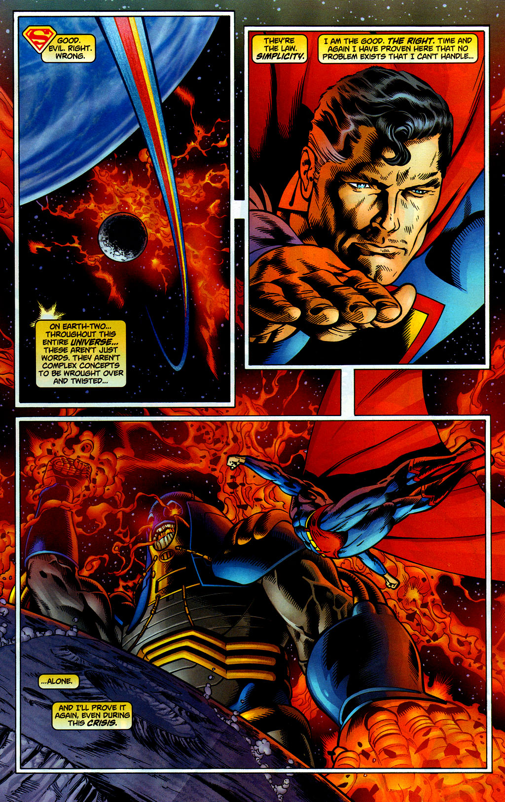 Read online Adventures of Superman (1987) comic -  Issue #649 - 11