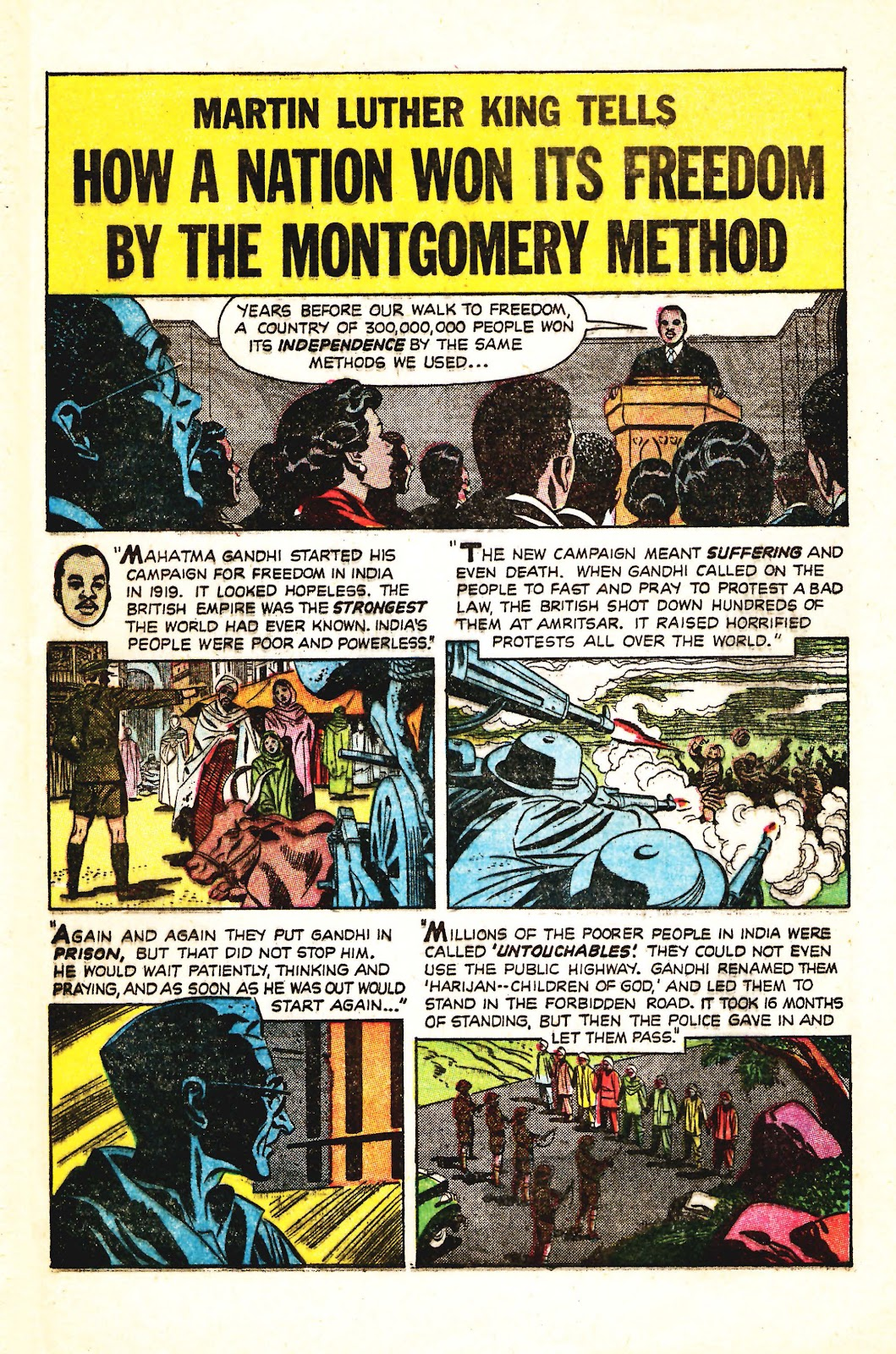 Read online Martin Luther King and the Montgomery Story comic -  Issue # Full - 11