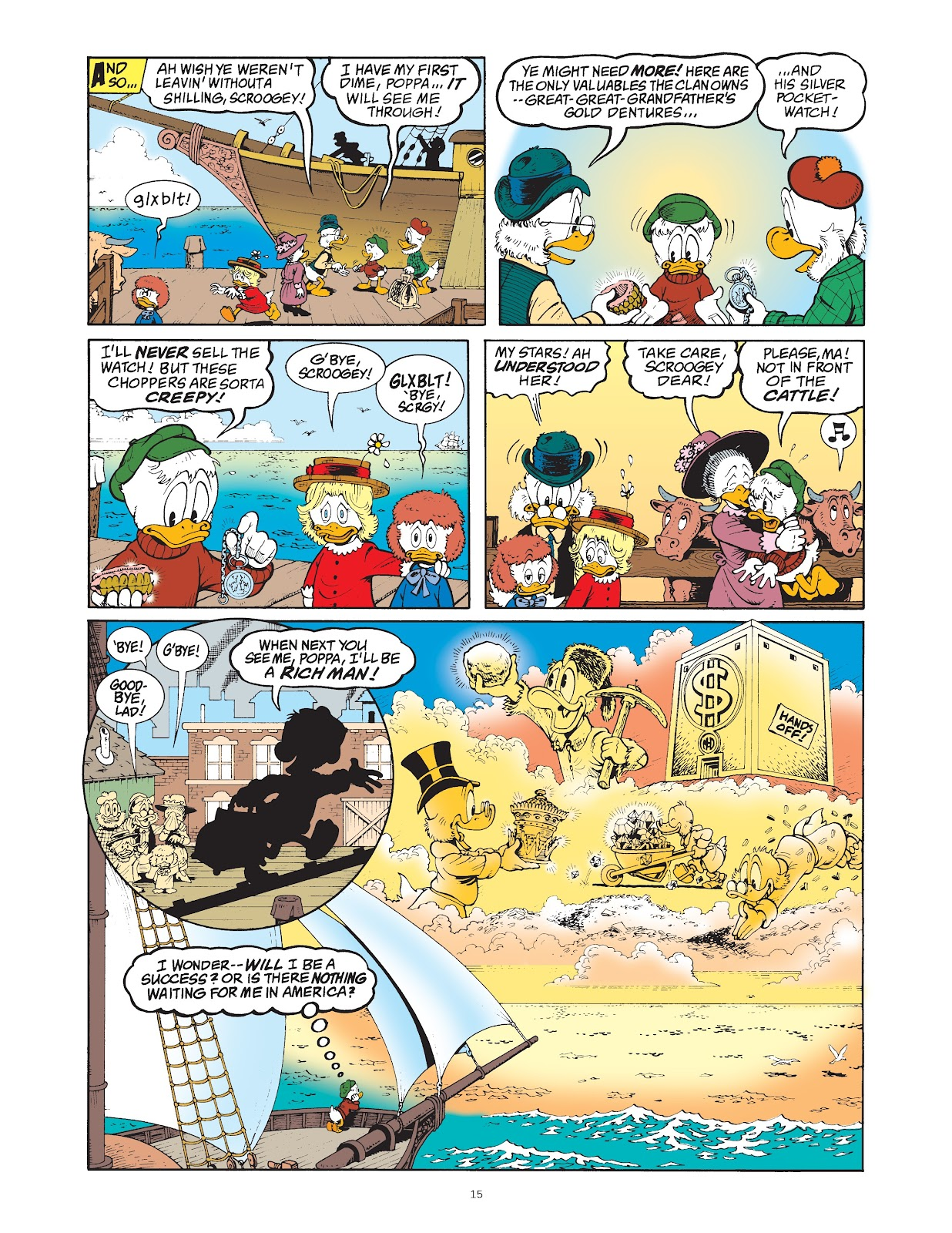 Read online The Complete Life and Times of Scrooge McDuck comic -  Issue # TPB 1 (Part 1) - 23