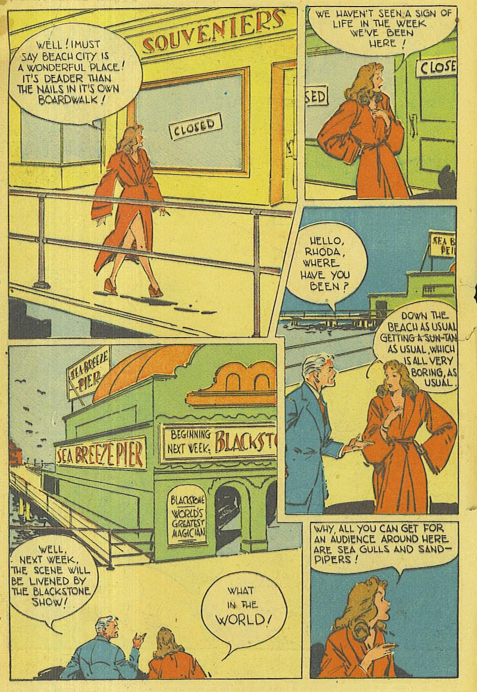 Read online Super-Magician Comics comic -  Issue #42 - 3