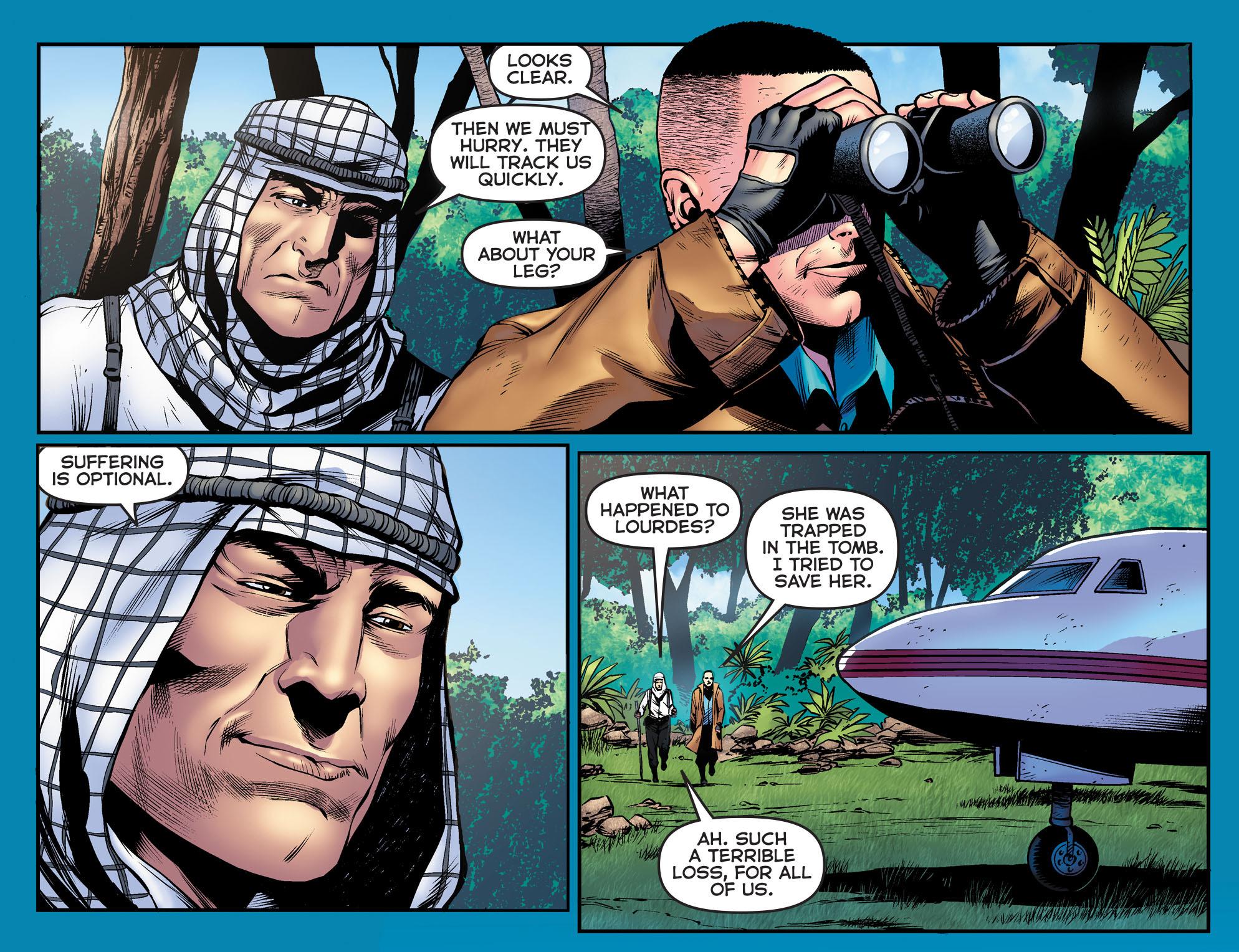 Read online Arrow: The Dark Archer comic -  Issue #9 - 7