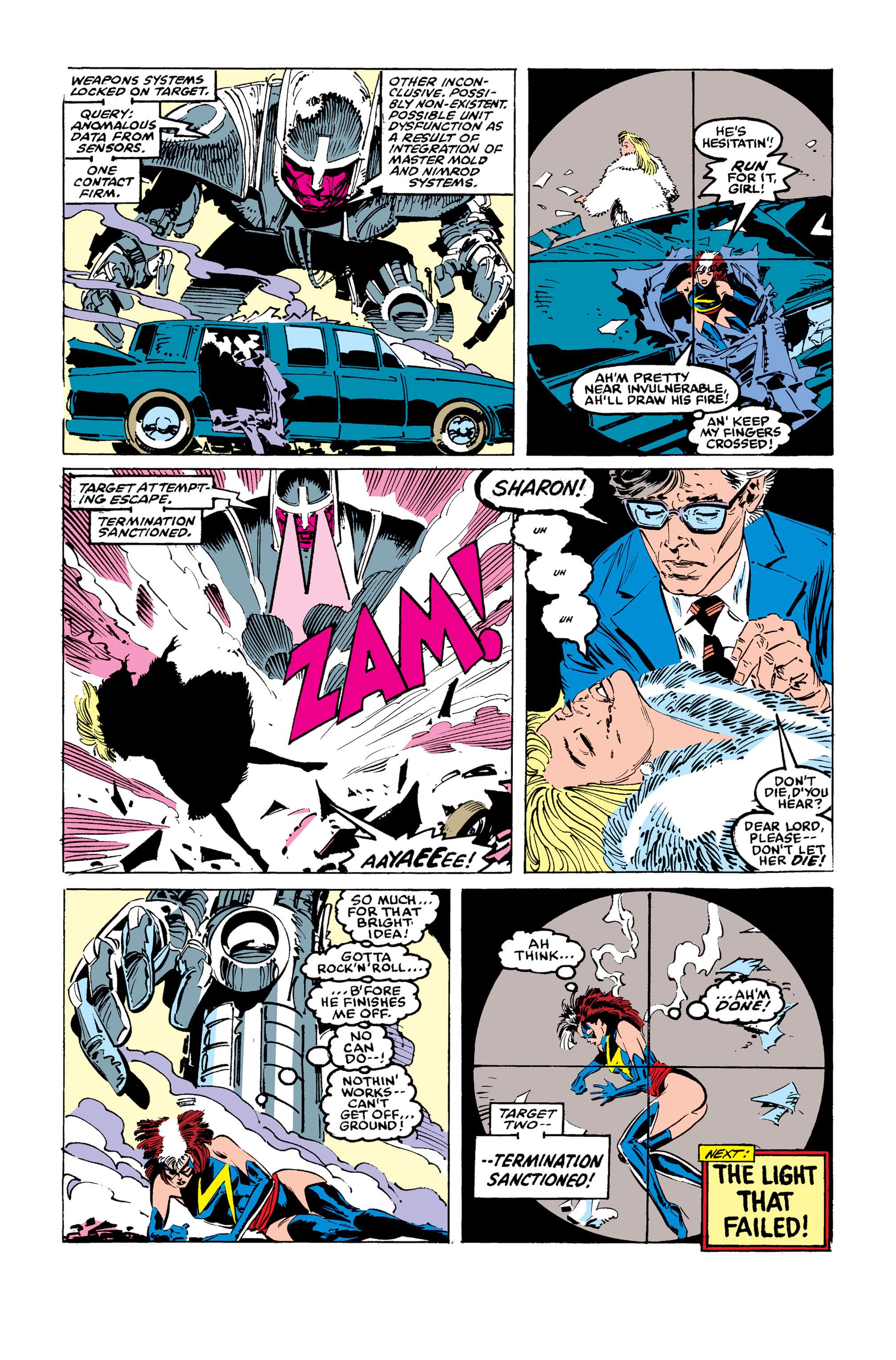 Read online Uncanny X-Men (1963) comic -  Issue #246 - 23