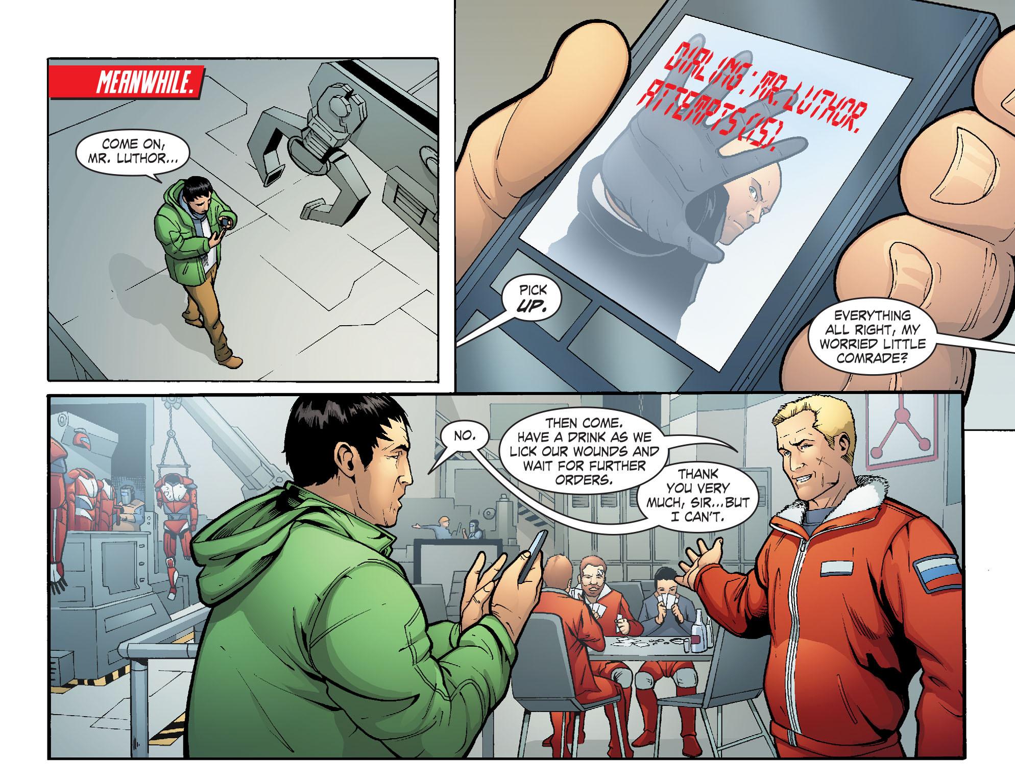 Read online Smallville: Alien comic -  Issue #8 - 13