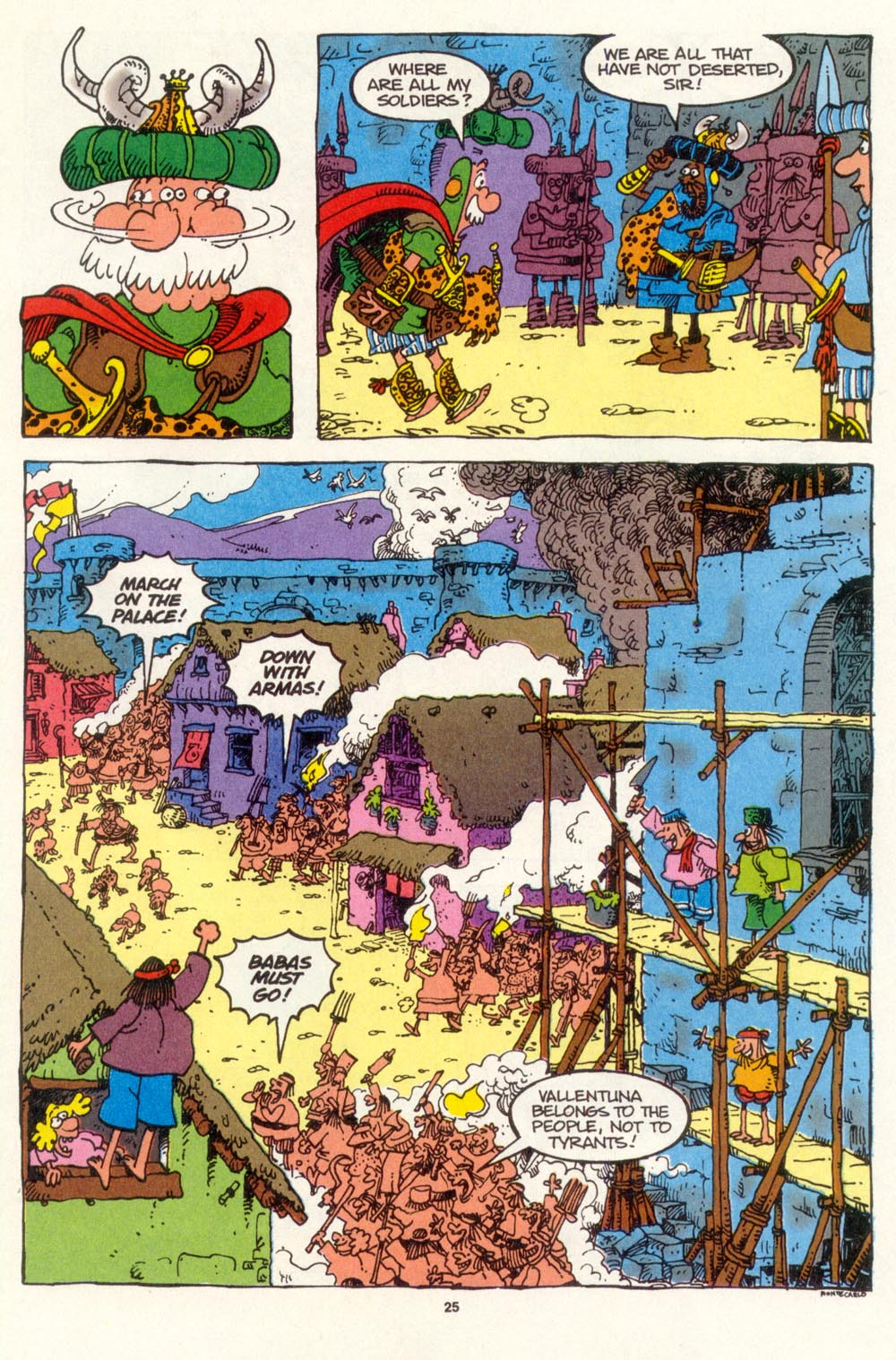 Read online Sergio Aragonés Groo the Wanderer comic -  Issue #107 - 27