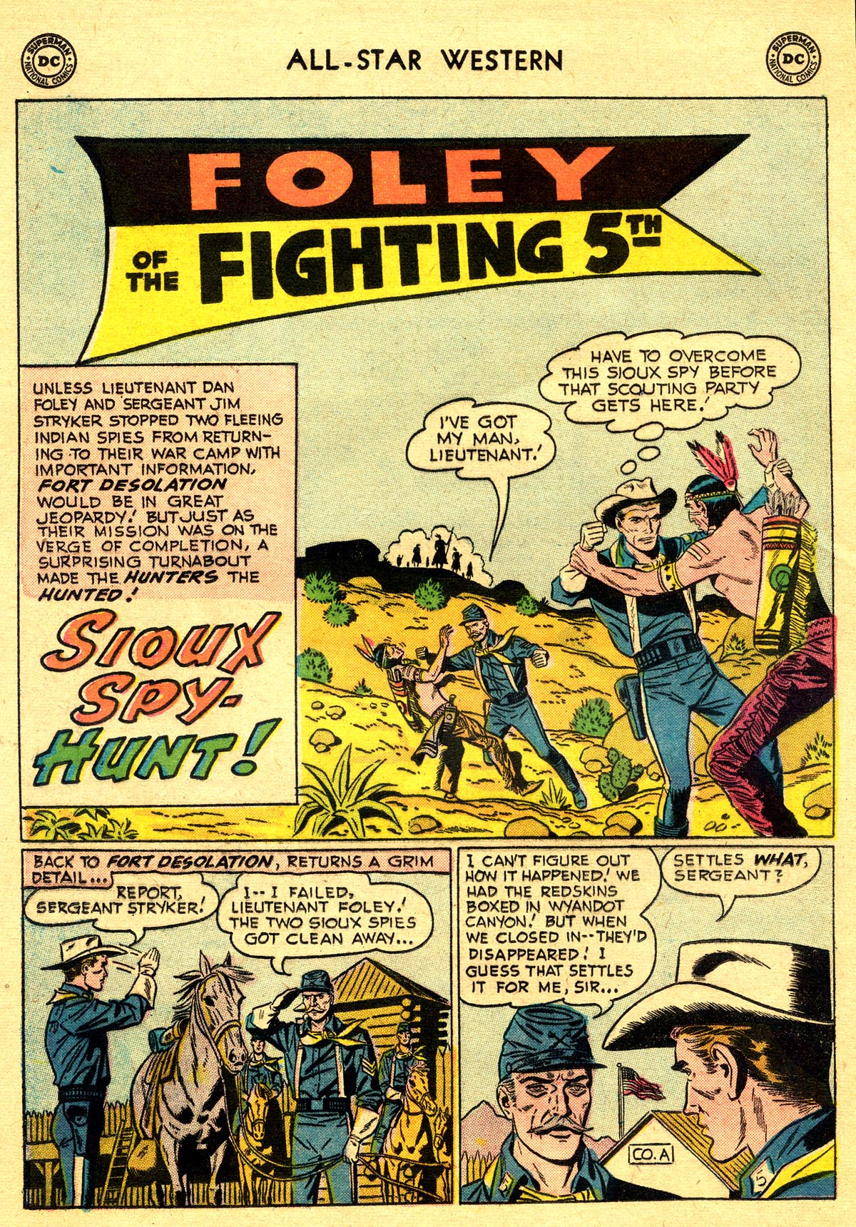 Read online All-Star Western (1951) comic -  Issue #93 - 20