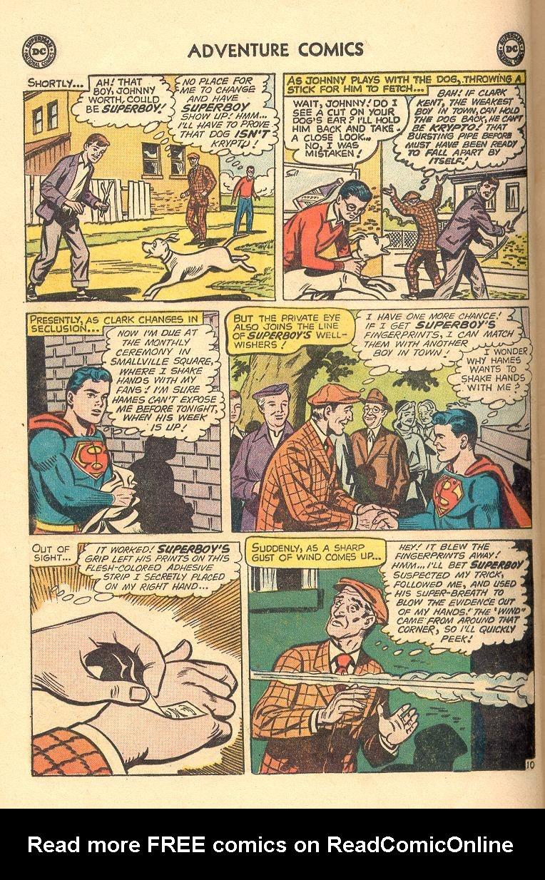 Read online Adventure Comics (1938) comic -  Issue #263 - 12
