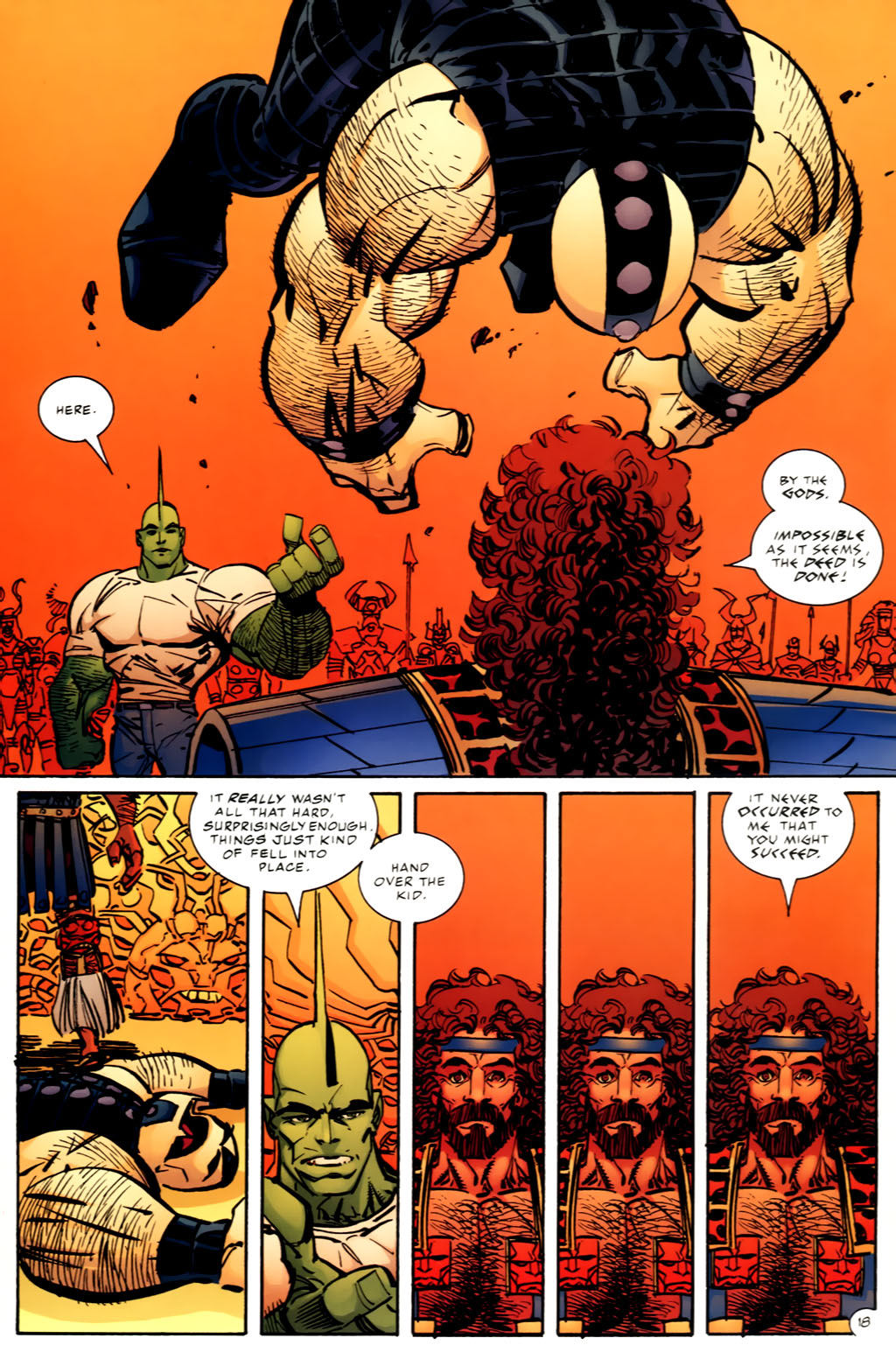 The Savage Dragon (1993) Issue #97 #100 - English 19
