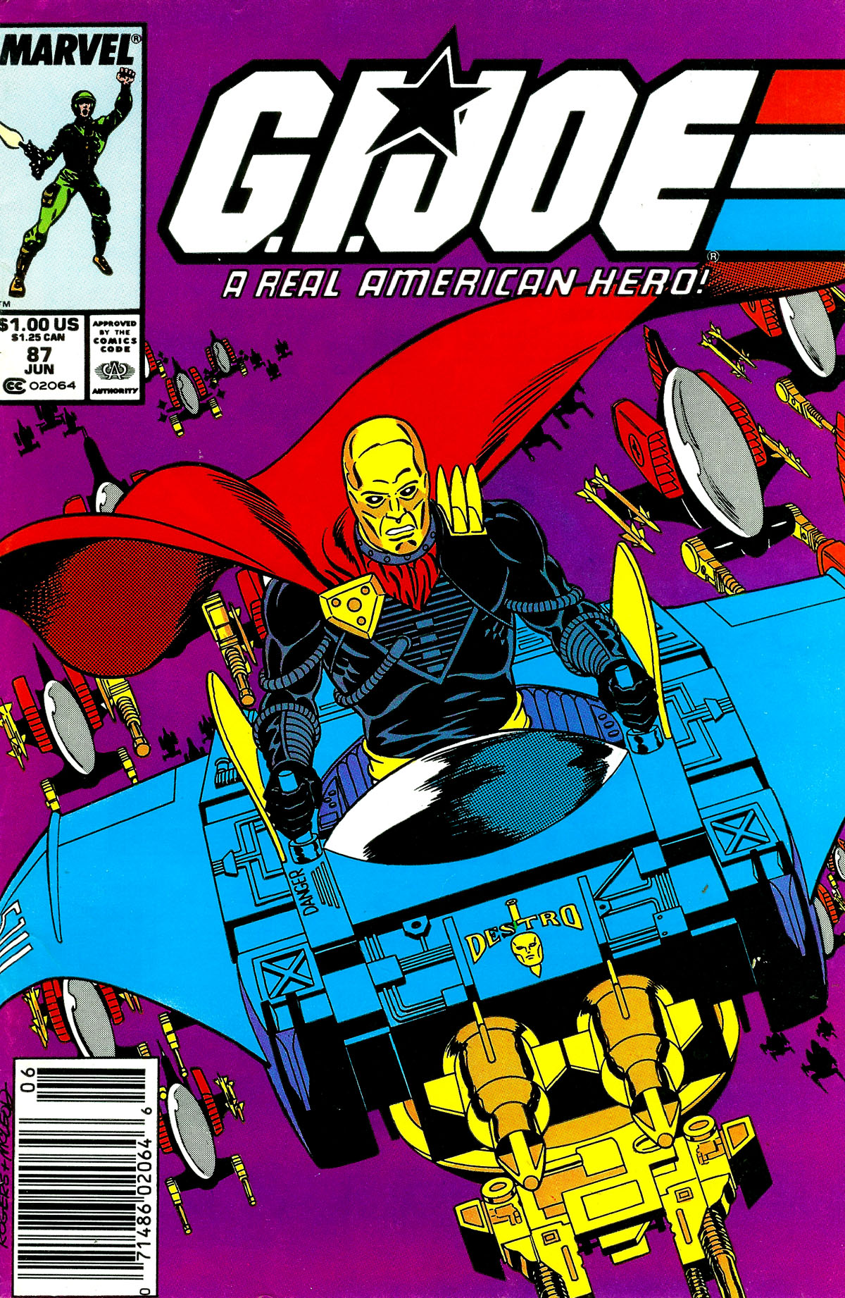 G.I. Joe: A Real American Hero 87 Page 1