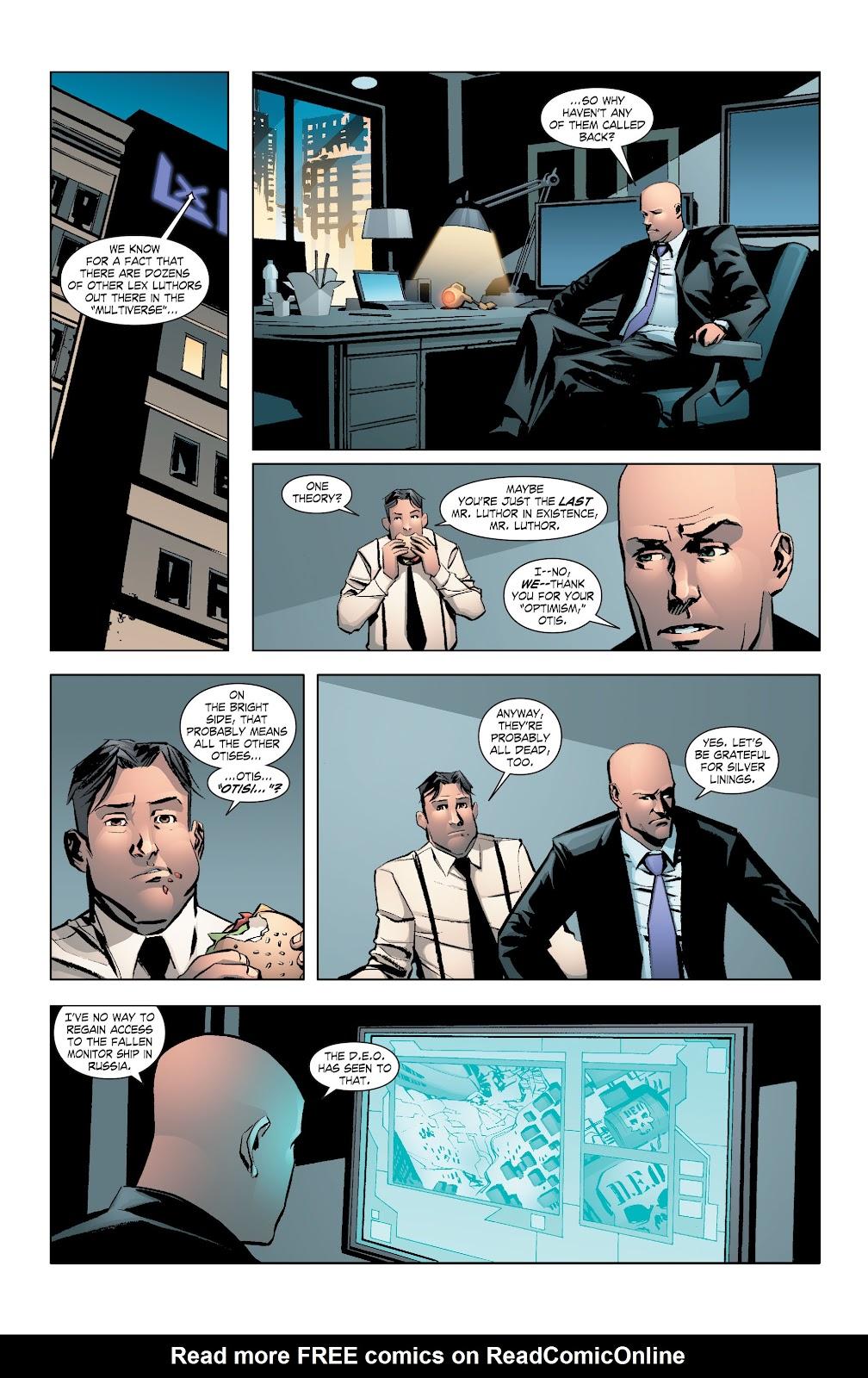 Read online Smallville Season 11 [II] comic -  Issue # TPB 7 - 38