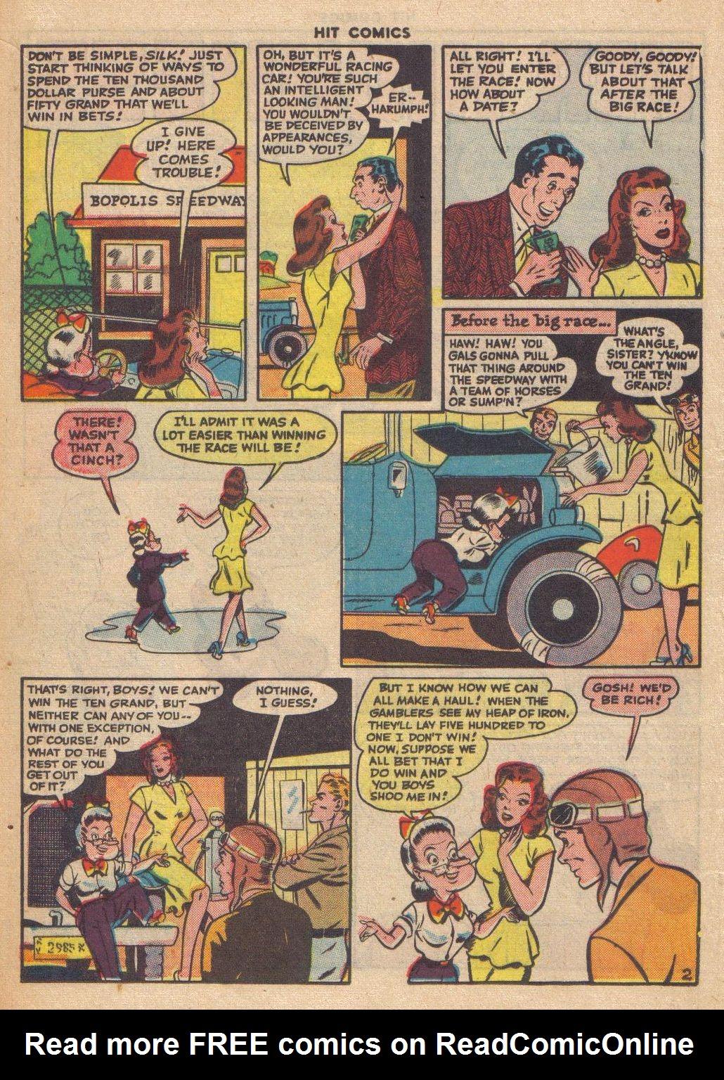 Read online Hit Comics comic -  Issue #46 - 20