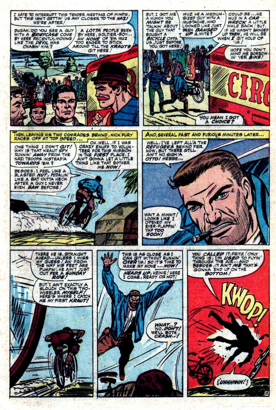 Read online Sgt. Fury comic -  Issue #34 - 17