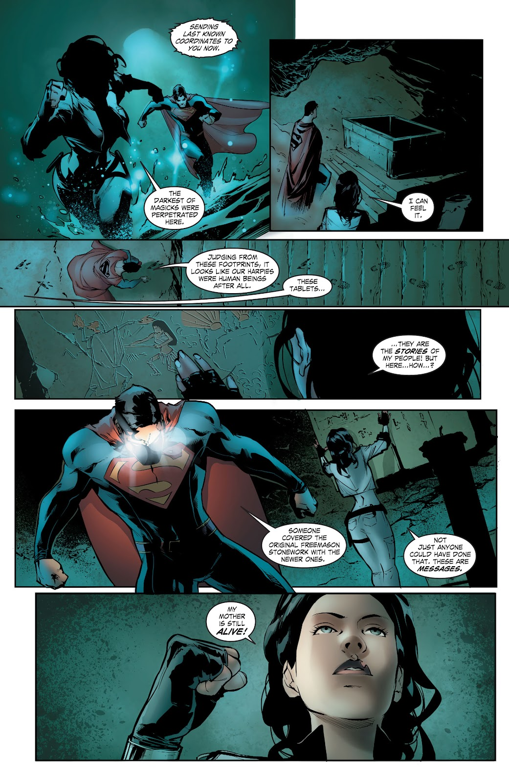 Read online Smallville Season 11 [II] comic -  Issue # TPB 5 - 48
