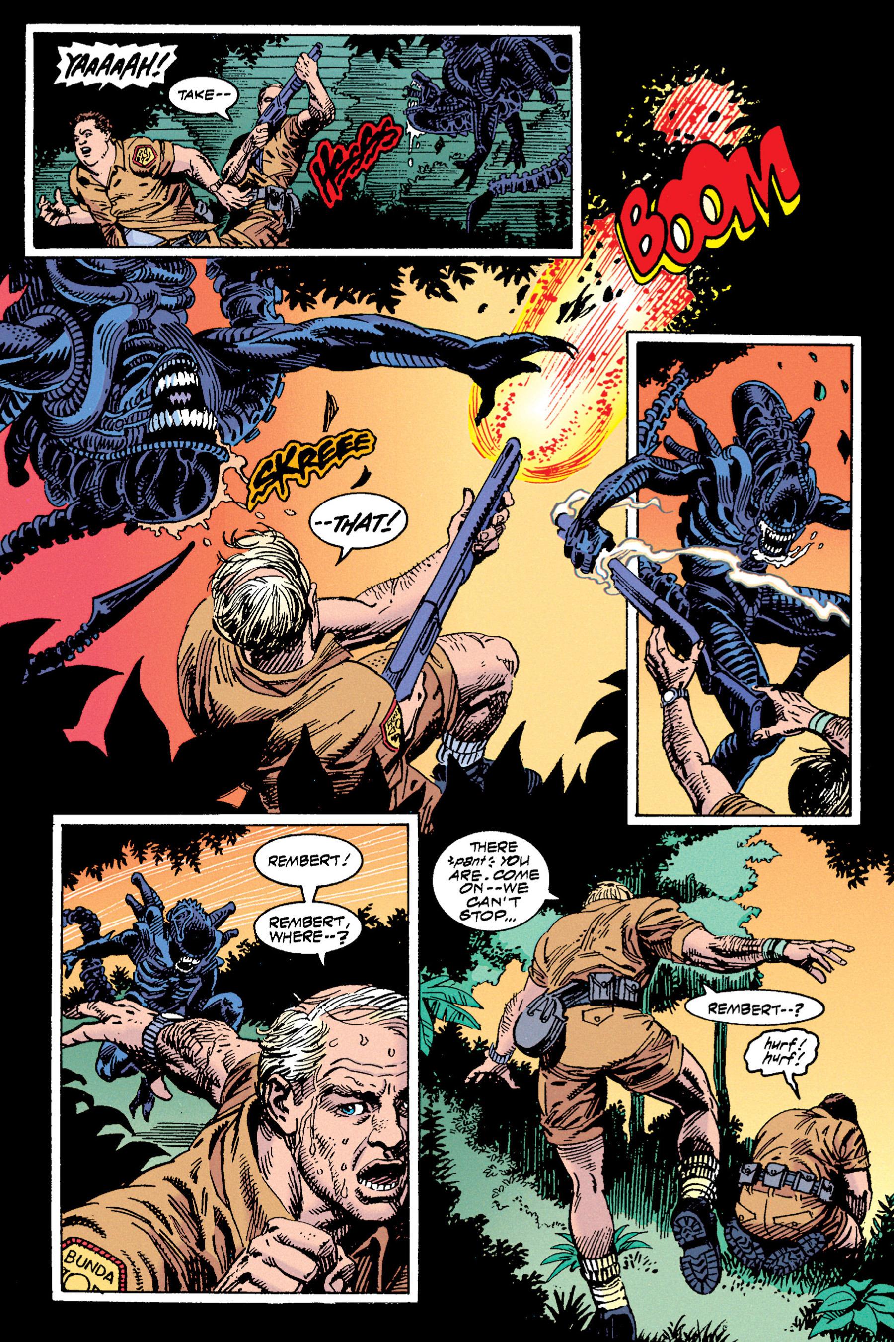 Read online Aliens vs. Predator Omnibus comic -  Issue # _TPB 1 Part 3 - 70