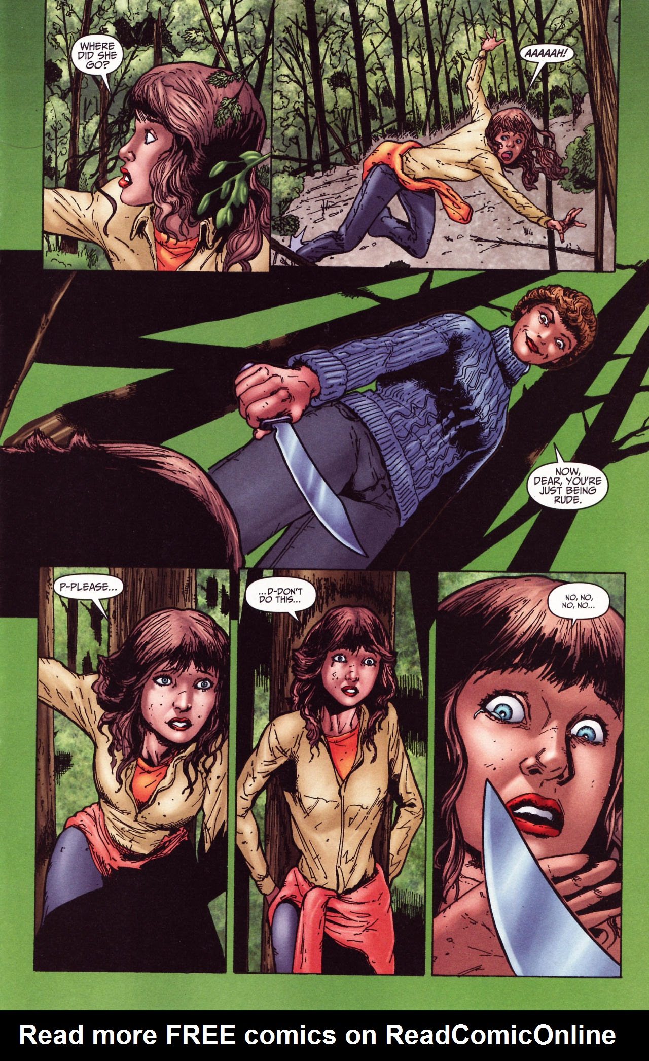 Read online Friday the 13th: Pamela's Tale comic -  Issue #2 - 5