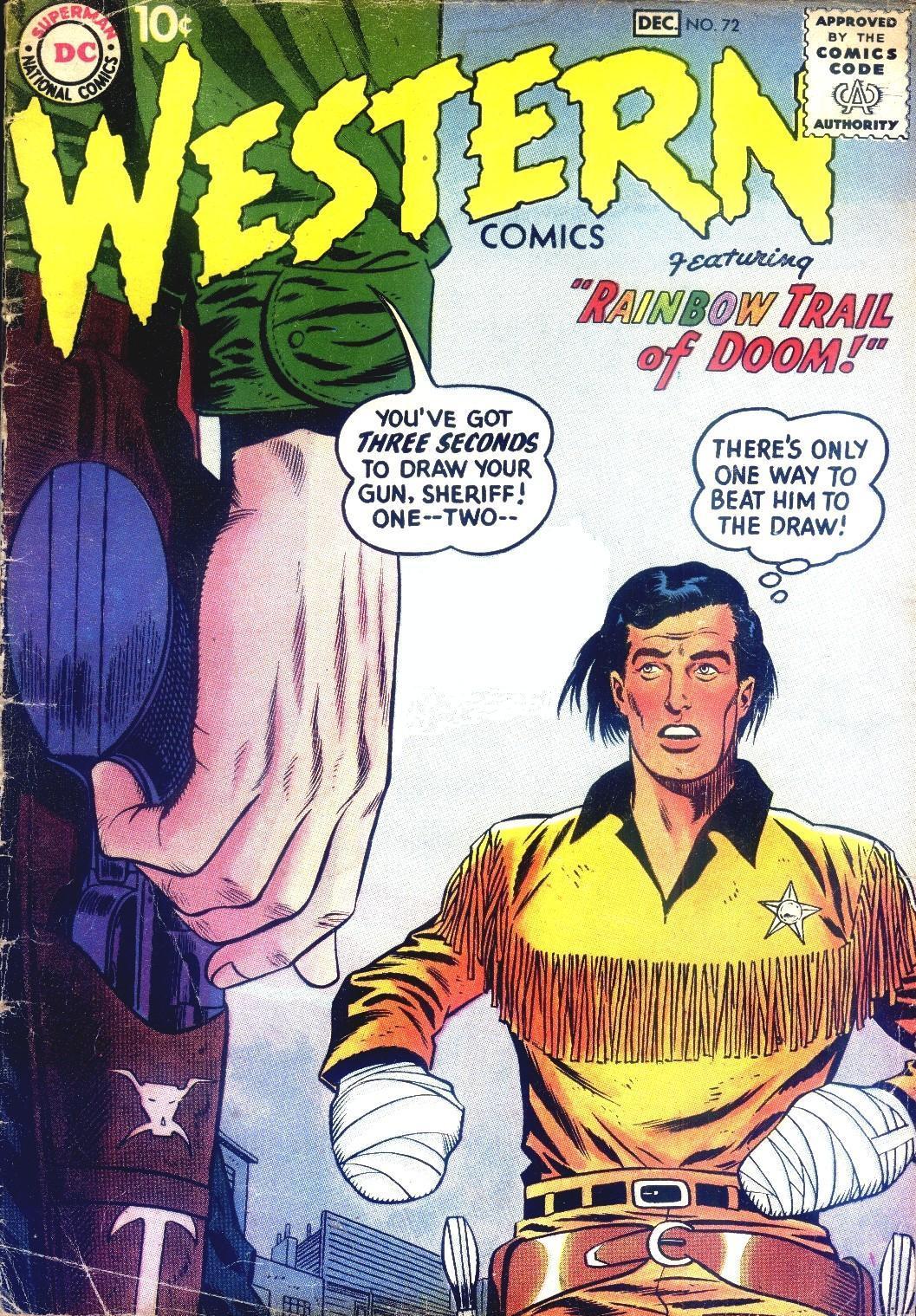 Western Comics 72 Page 1