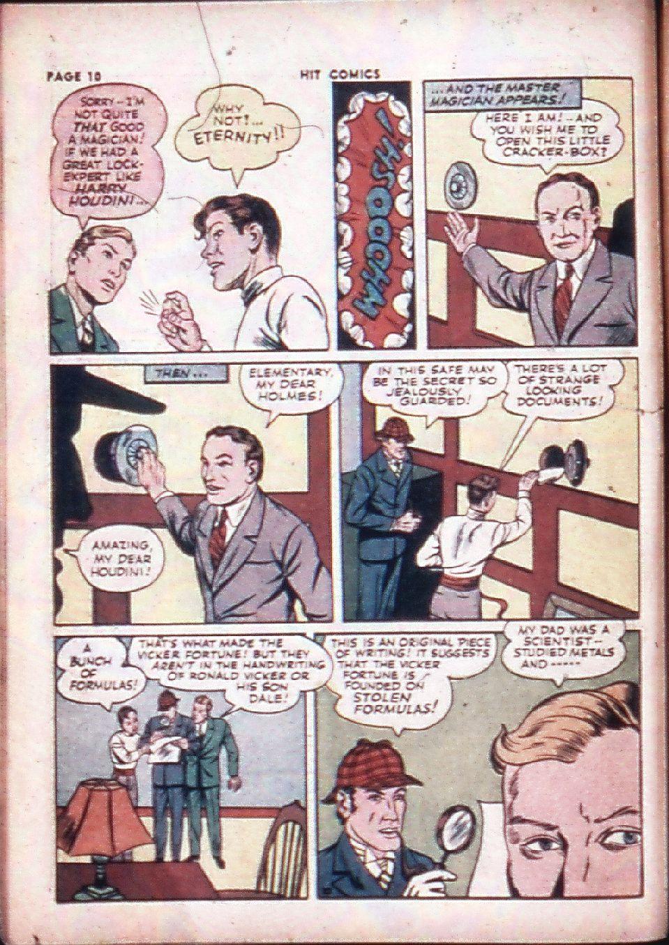 Read online Hit Comics comic -  Issue #29 - 12
