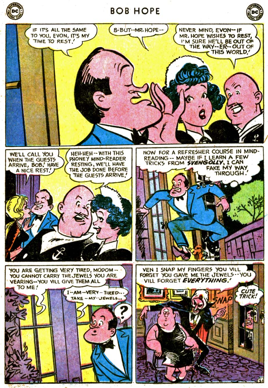 The Adventures of Bob Hope issue 77 - Page 29