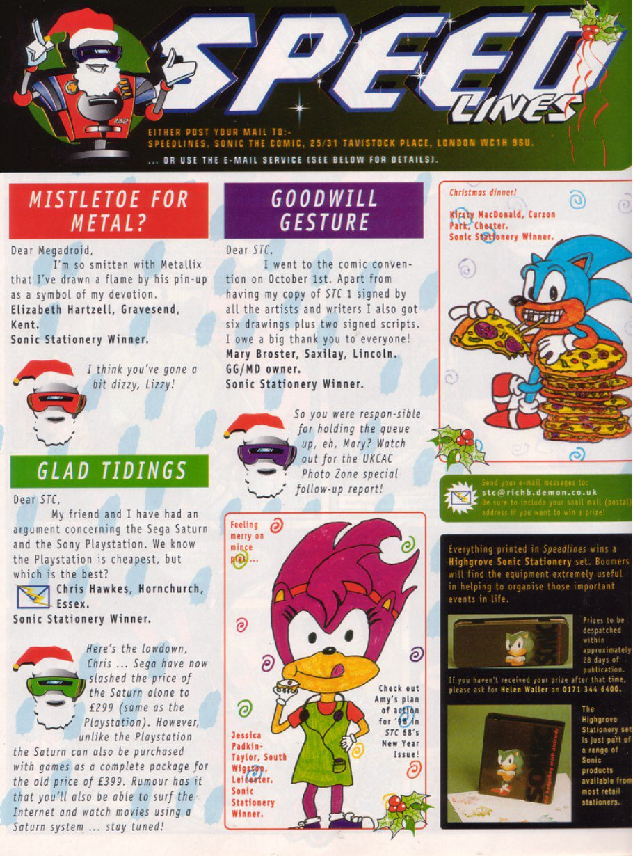 Read online Sonic the Comic comic -  Issue #67 - 29