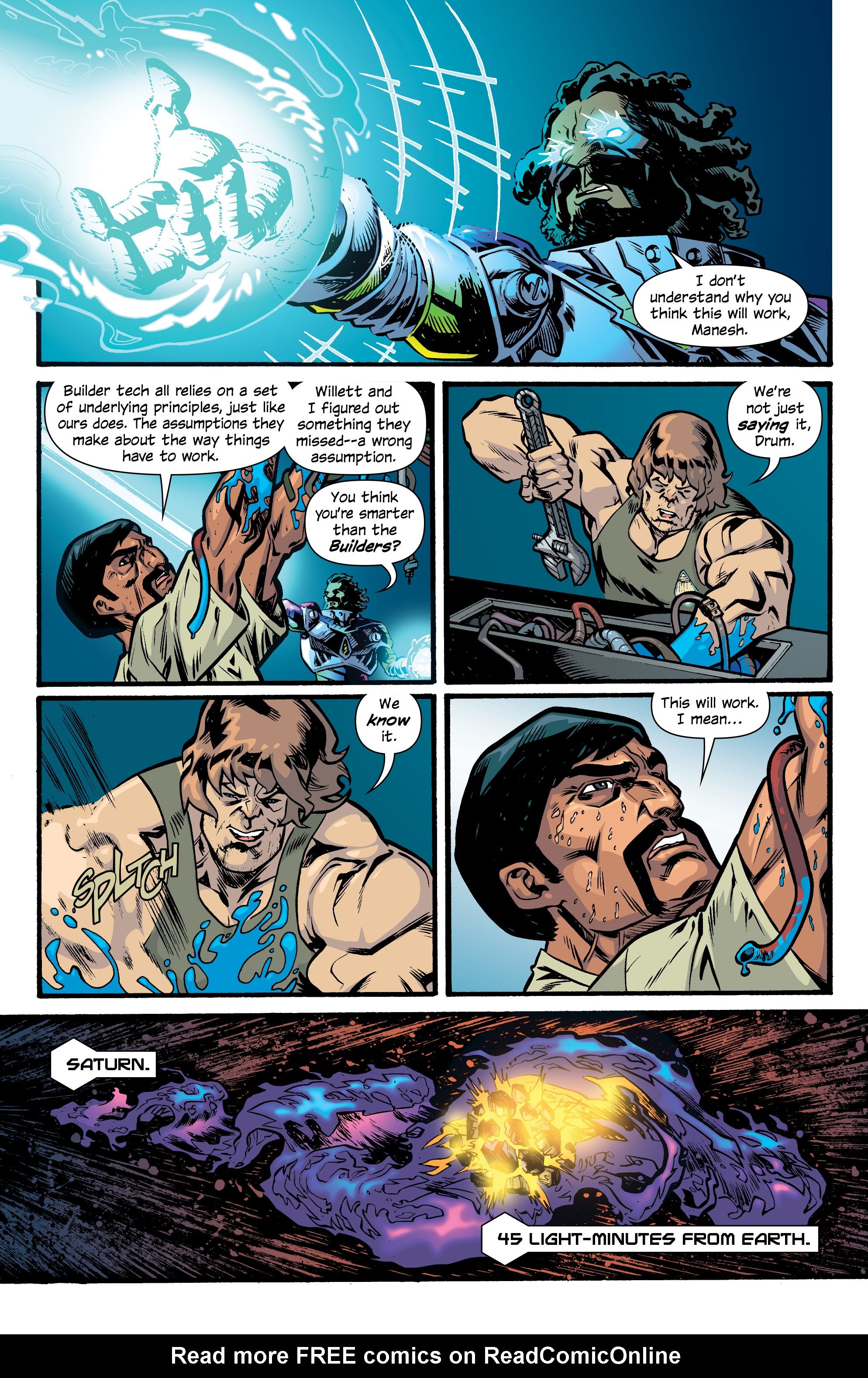 Read online Letter 44 comic -  Issue #33 - 17