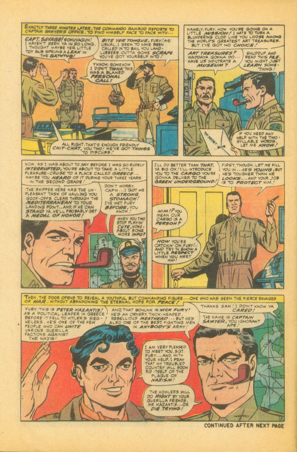 Read online Sgt. Fury comic -  Issue #99 - 8