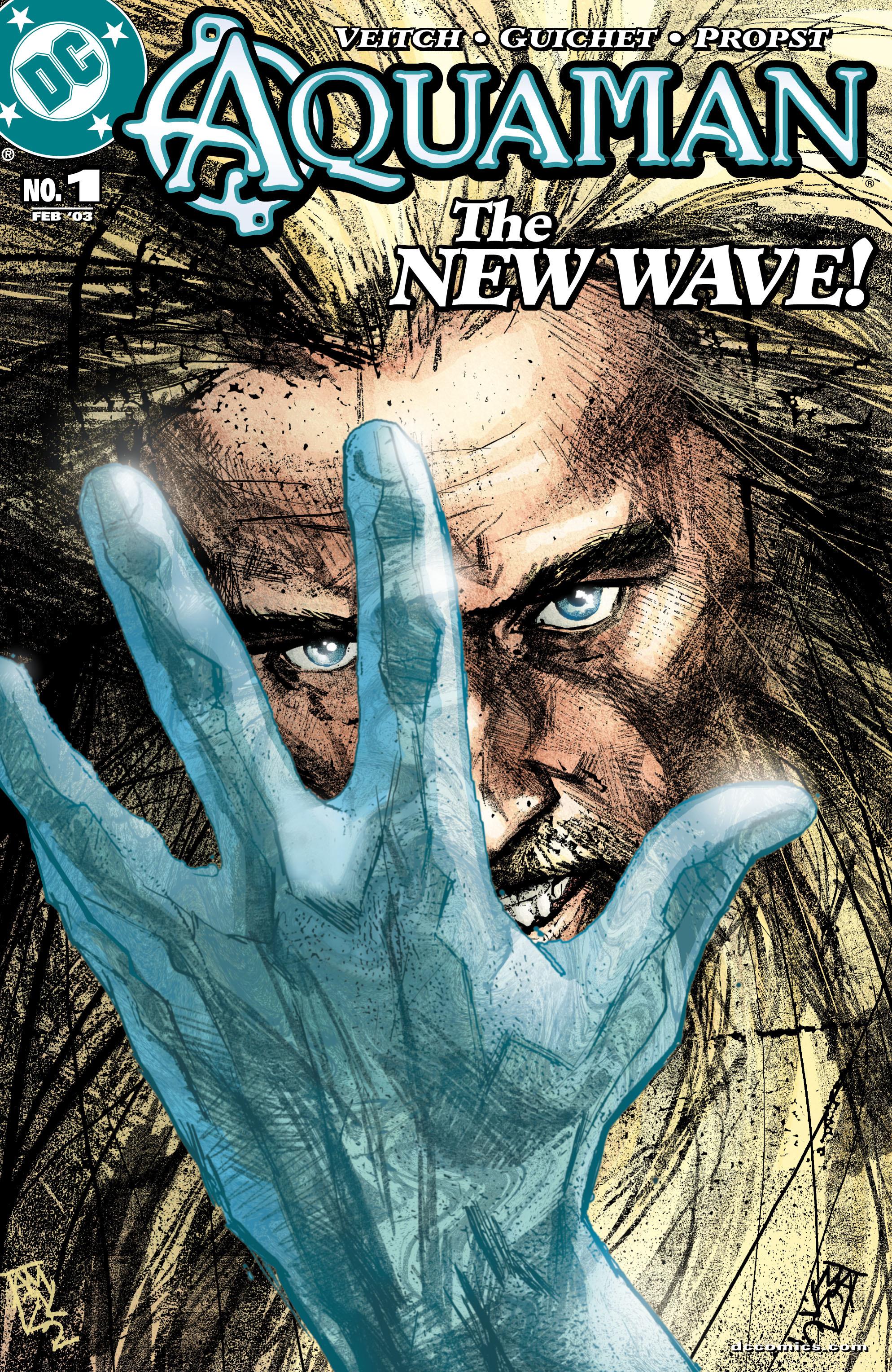 Read online Aquaman (2003) comic -  Issue #1 - 1