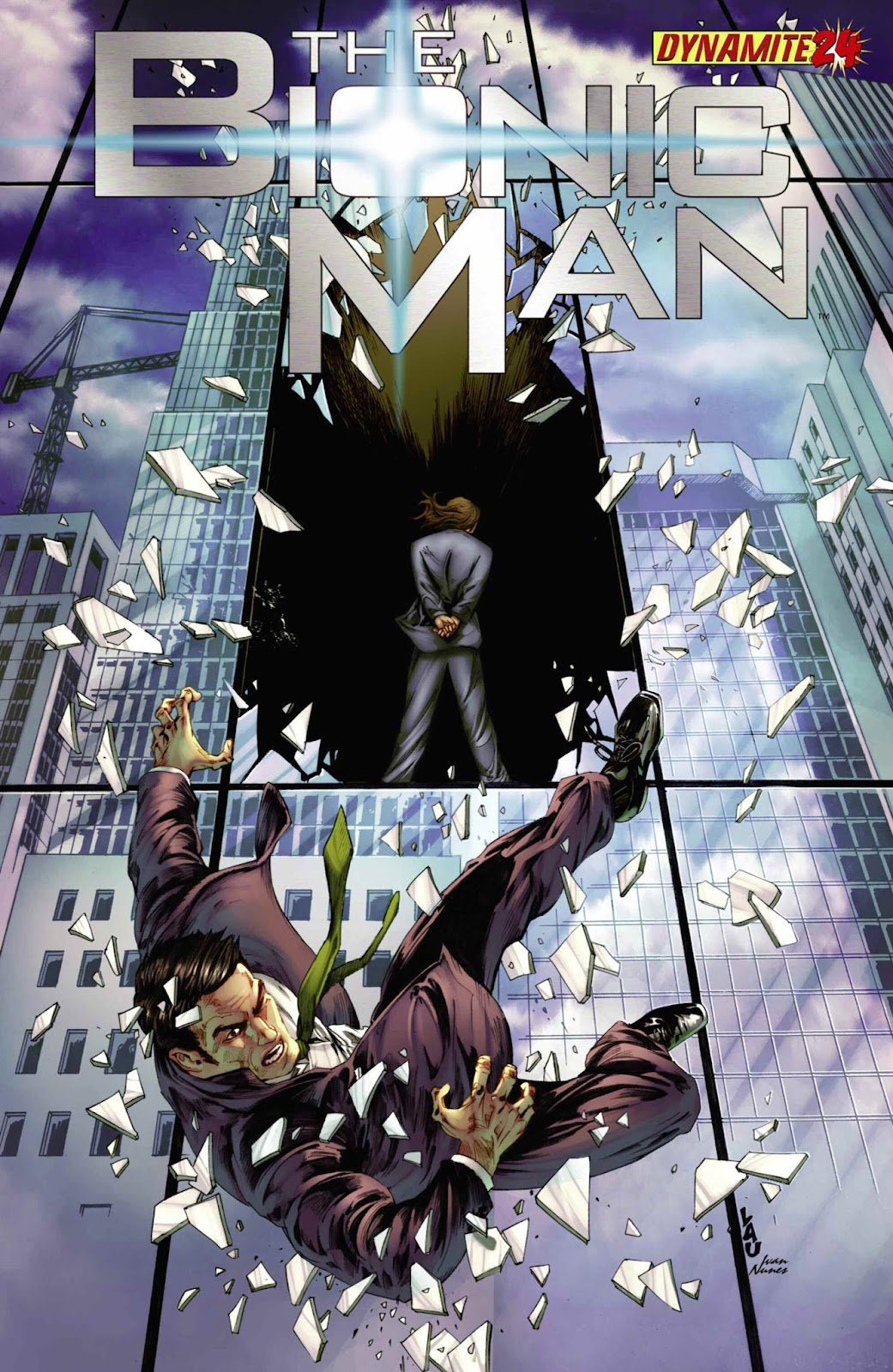 Bionic Man 24 Page 1